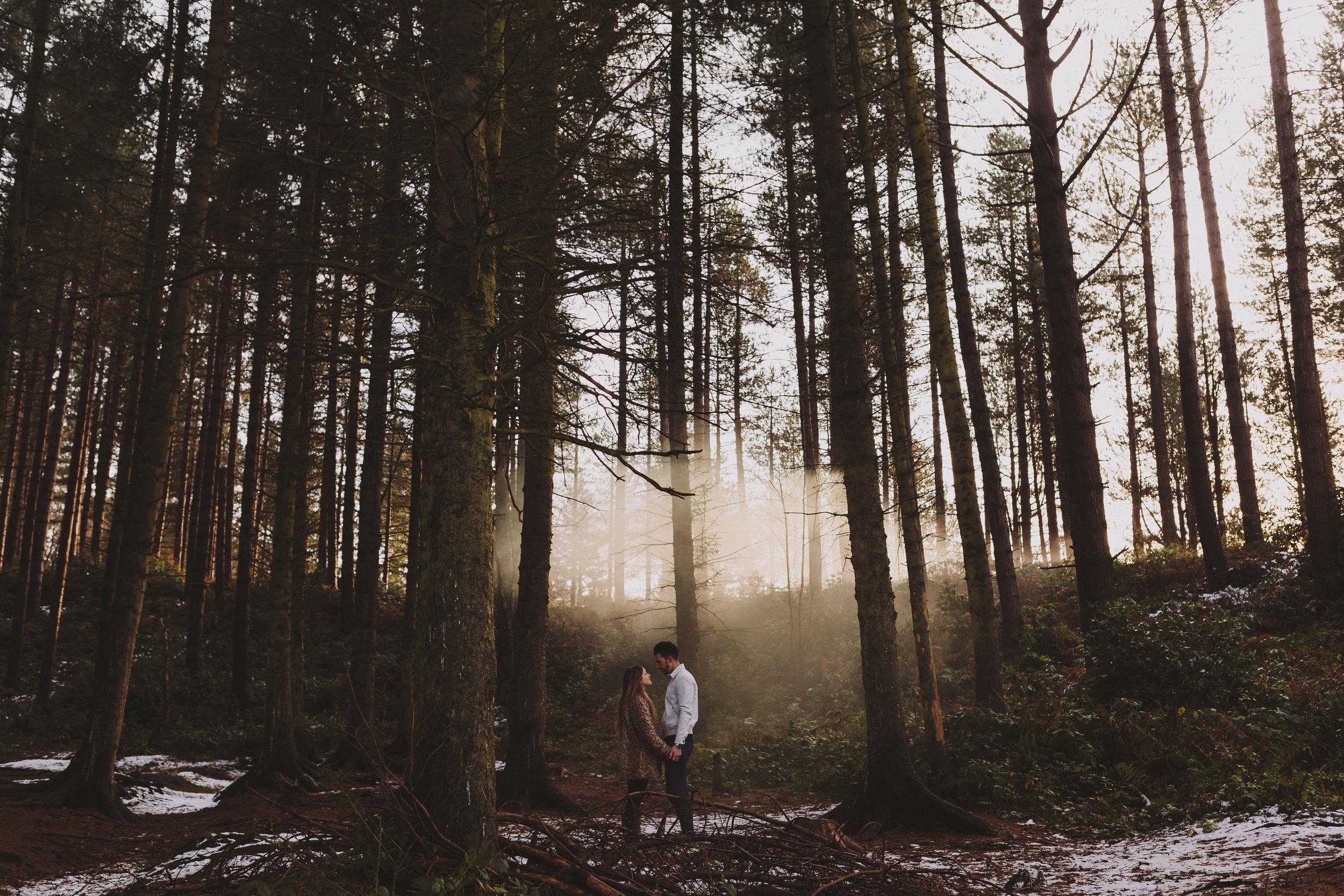 Newcastle Engagement and Wedding Photographer Smoke Grenade