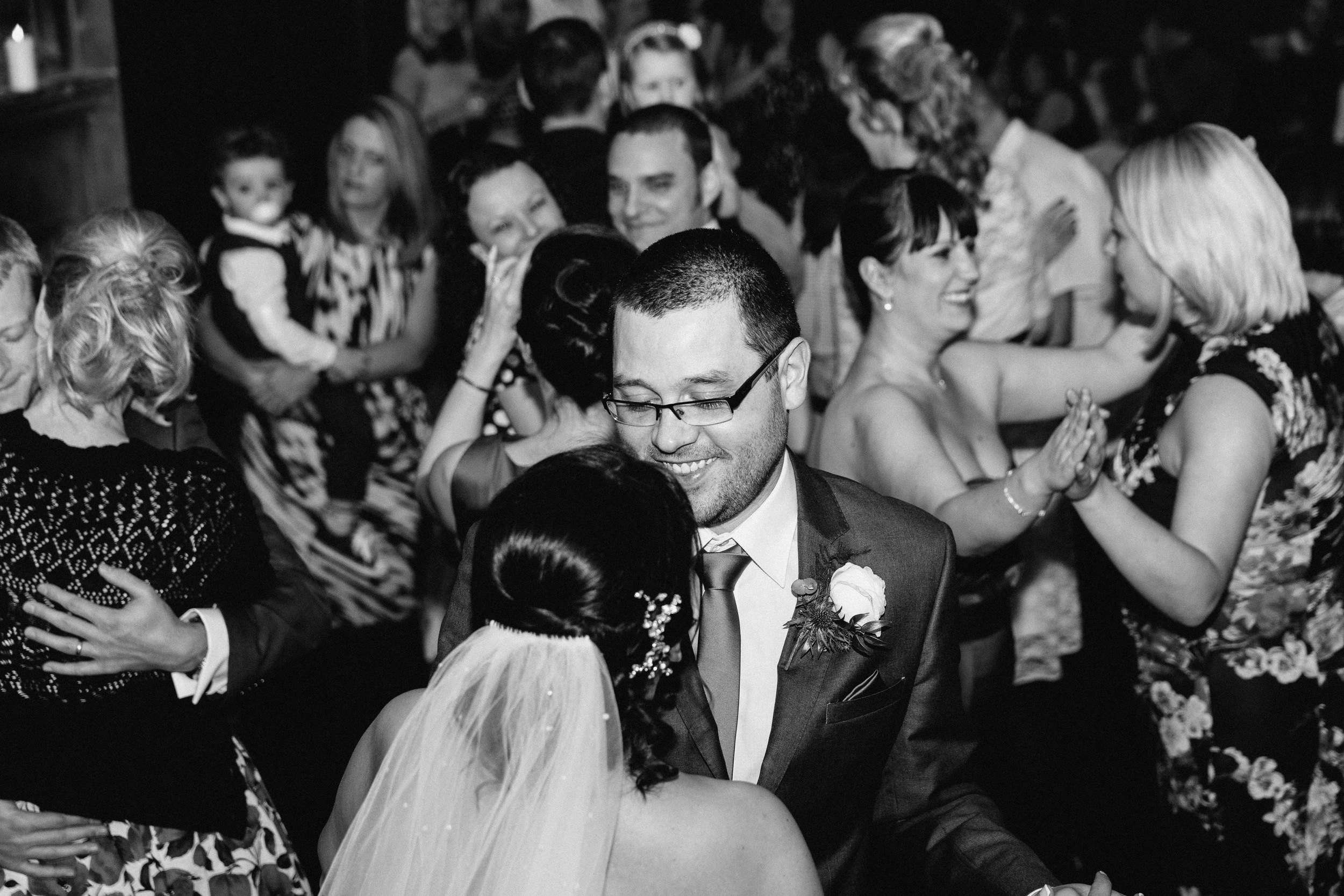 Durham Wedding Photographer - Bride and groom first dance