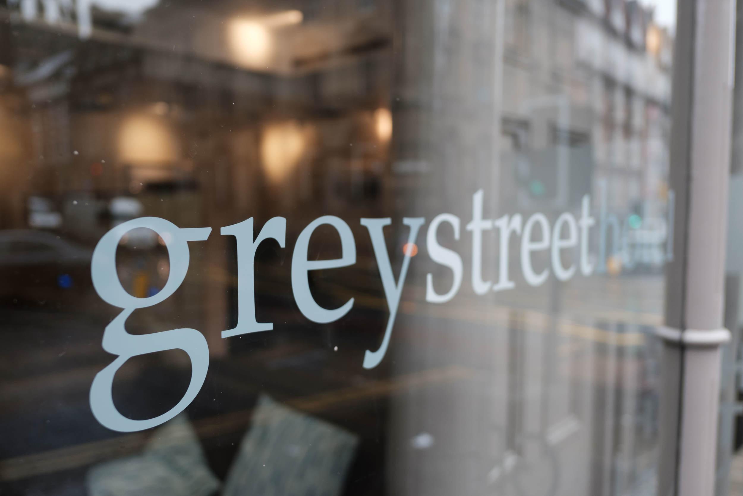 Grey Street Hotel Wedding Venue Sign Newcastle upon Tyne