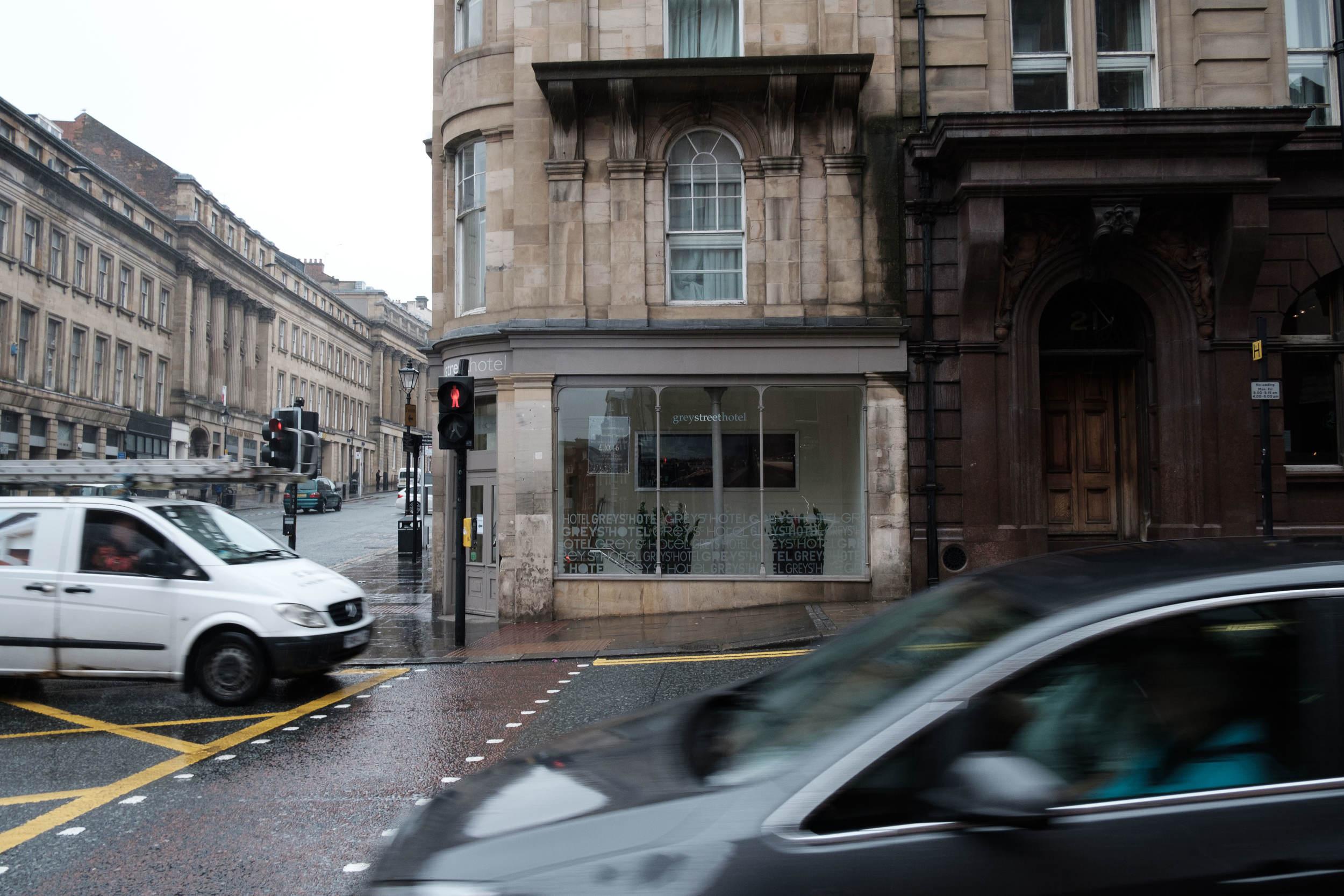 Grey Street Hotel Wedding Venue traffic Newcastle upon Tyne