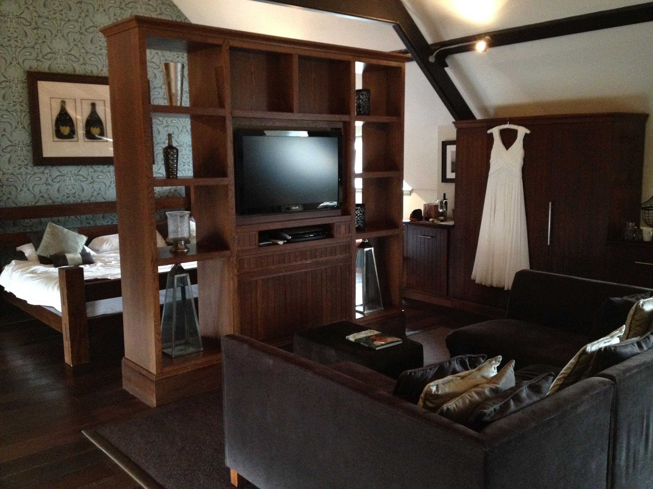 Dom Perignon suite at Hotel du Vin