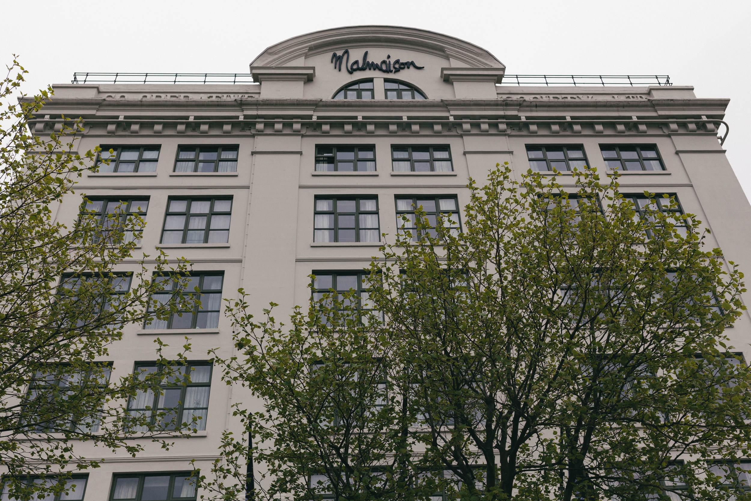 The facade of the Malmaison Hotel Newcastle upon Tyne