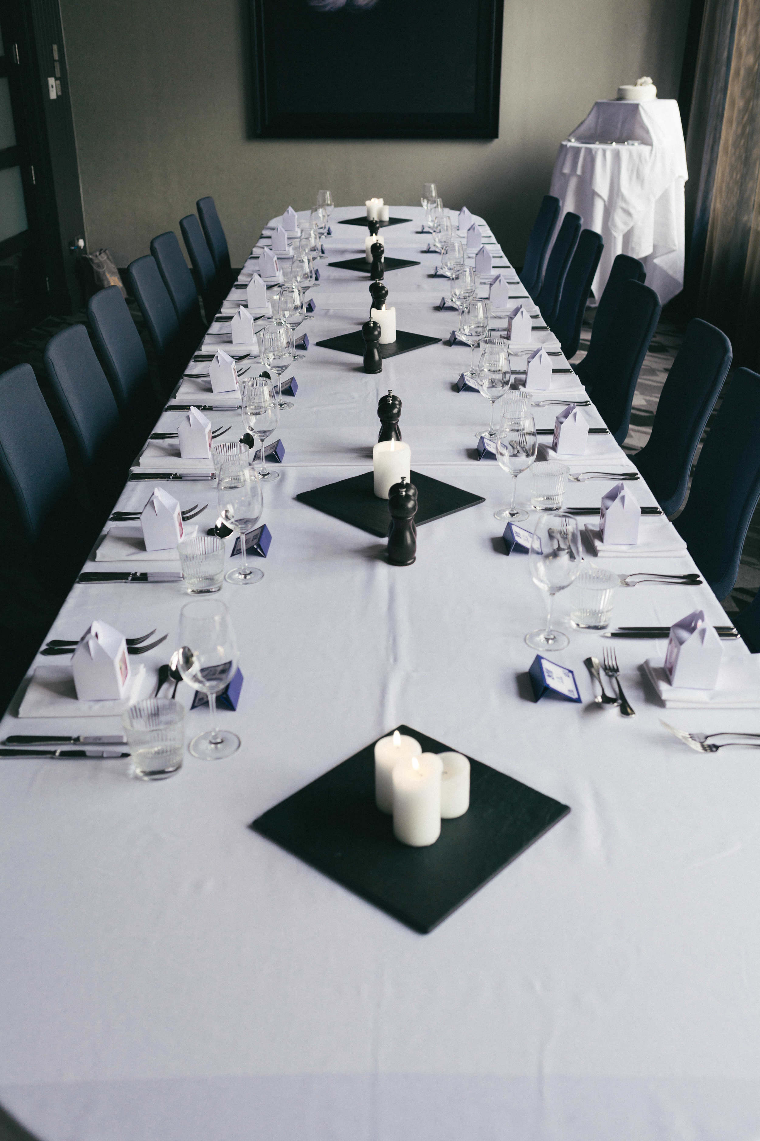 A private room used for weddings at Malmaison Newcastle