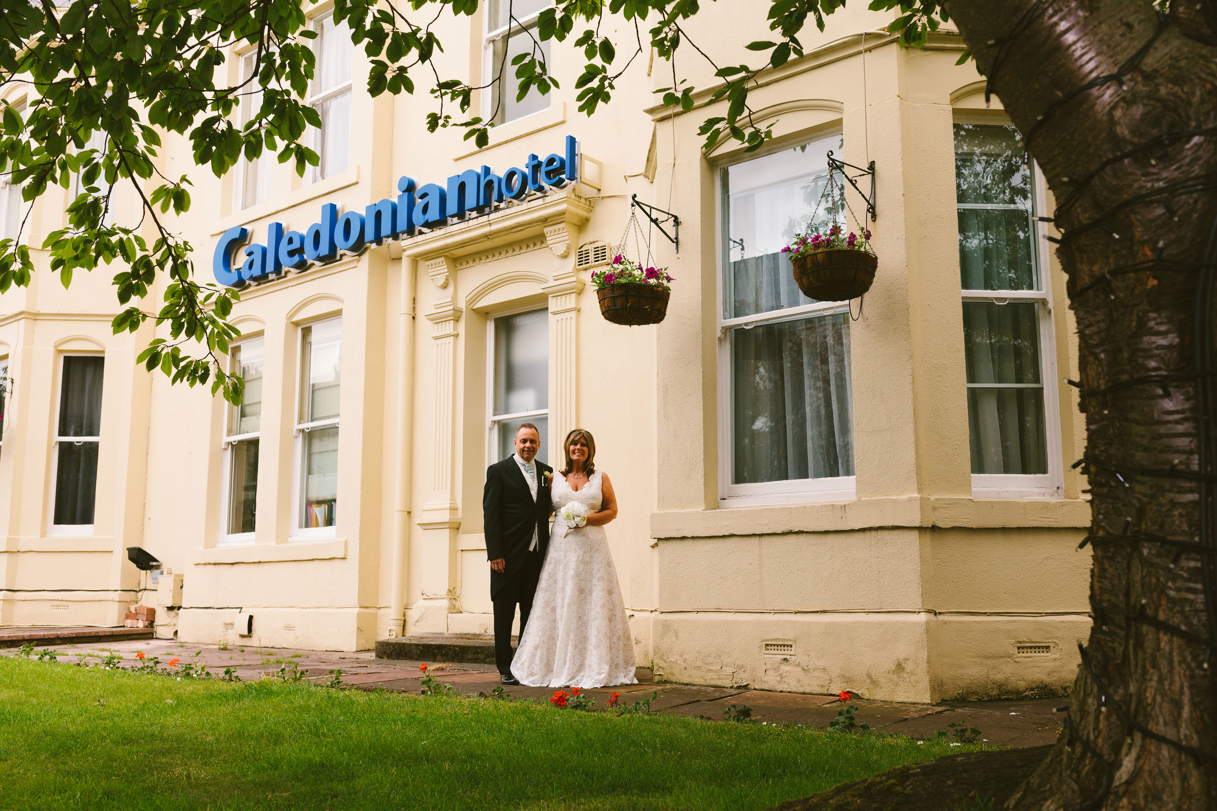 Newcastle Wedding Venue // The Caledonian Hotel // Front Aspect