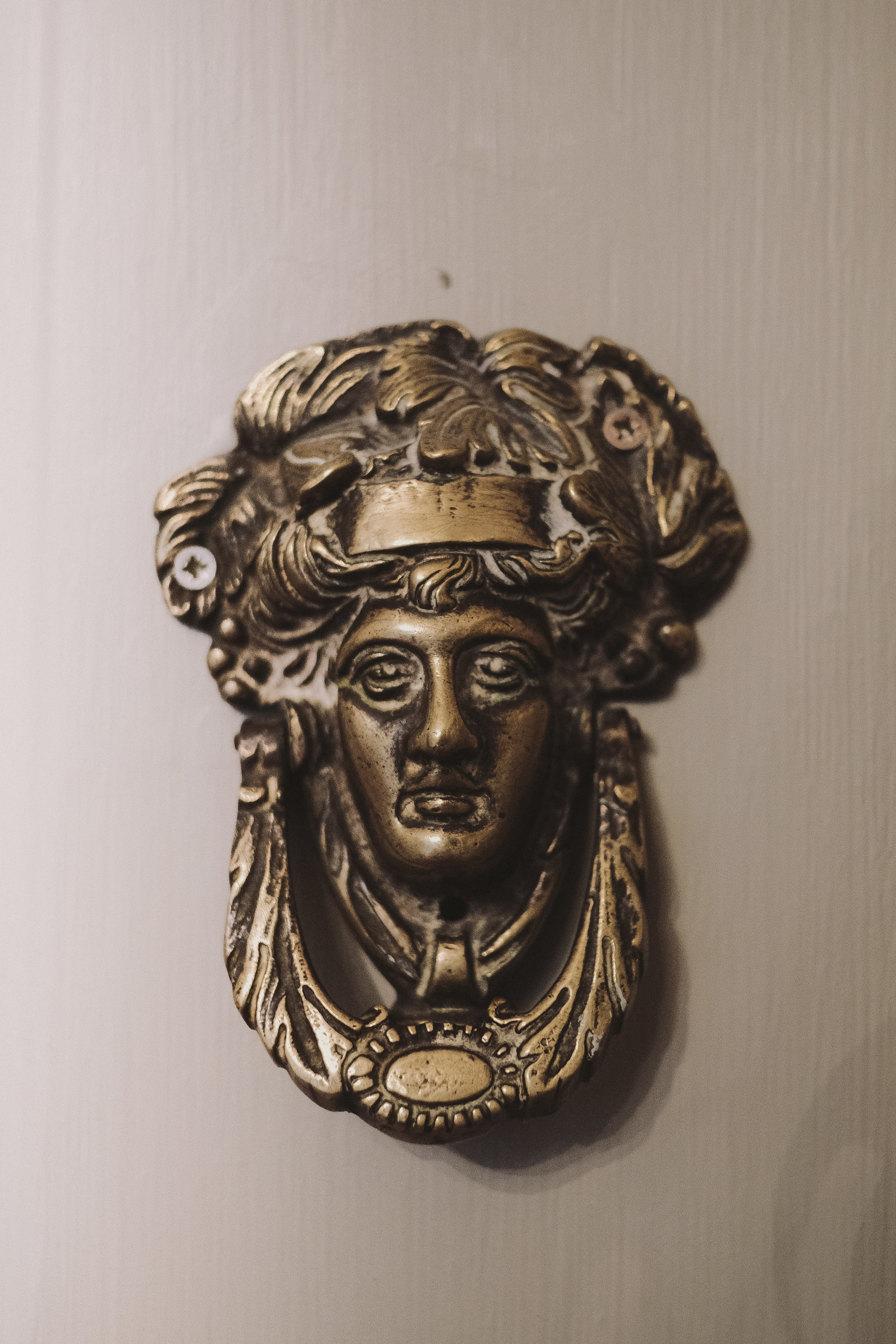La Rosa Hotel Whitby // Door Knocker // By Wedding Photographer Barry Forshaw