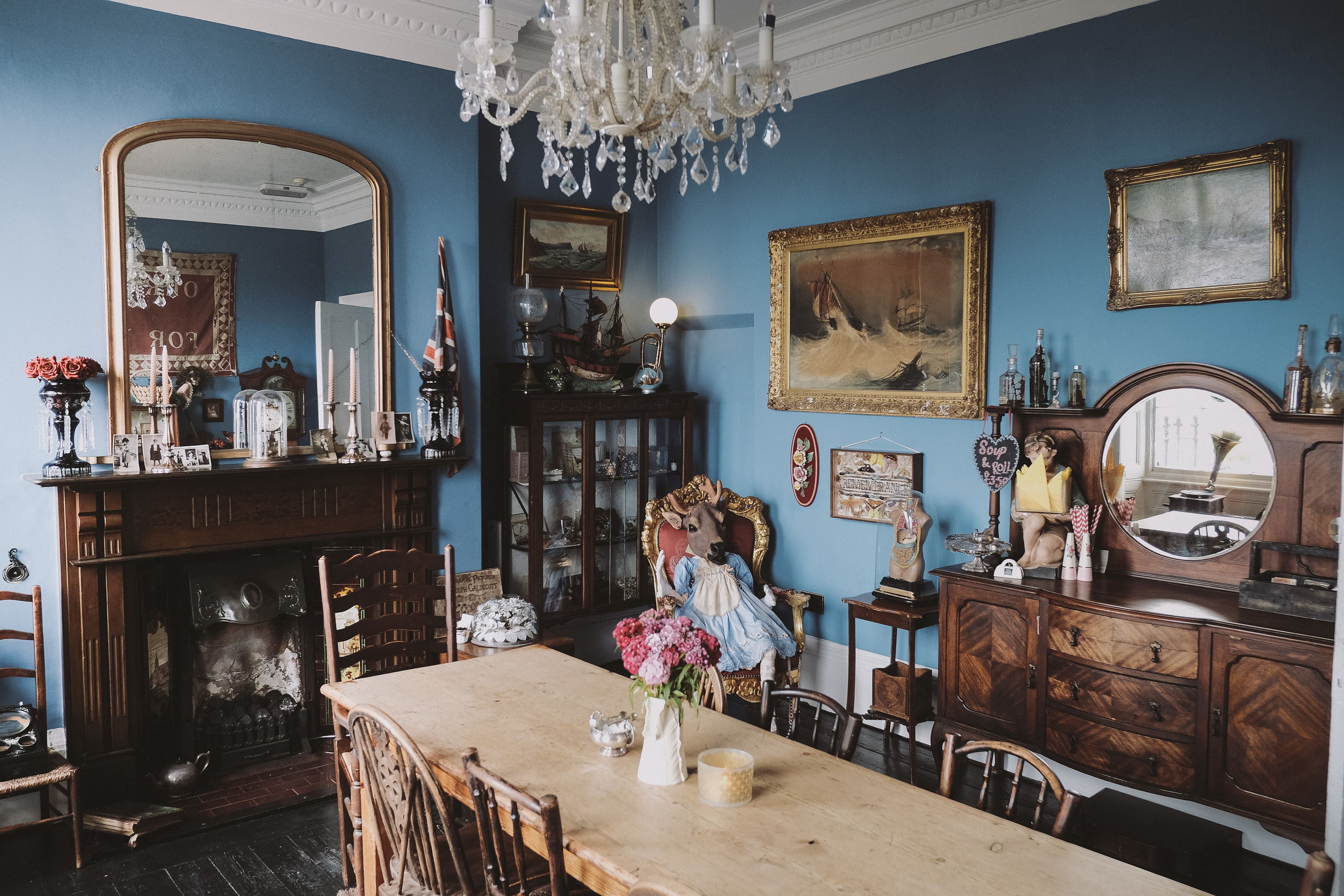 La Rosa Hotel Whitby // Tea Room // By Wedding Photographer Barry Forshaw