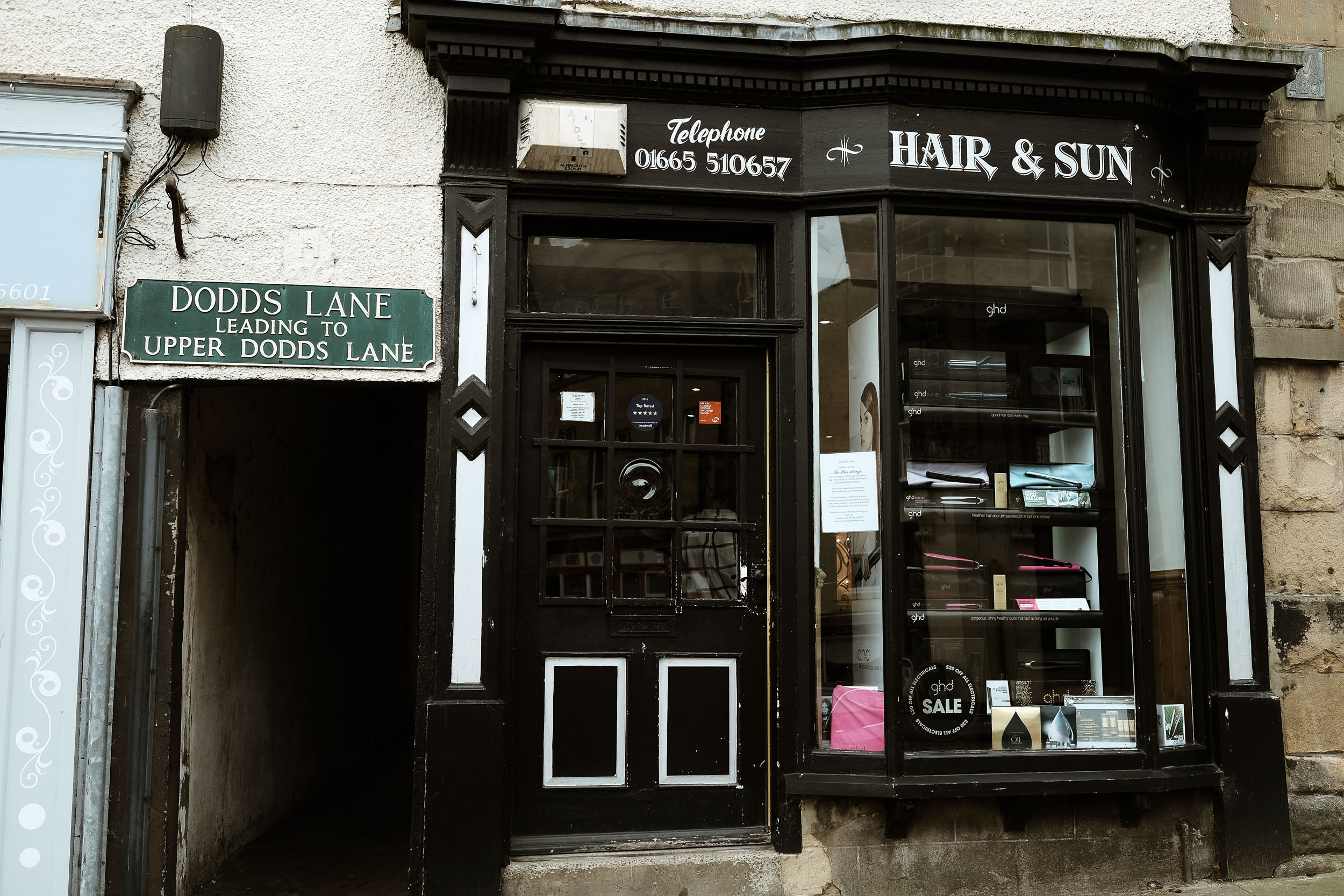 Hair & Sun salon in Alnwick Northumberland