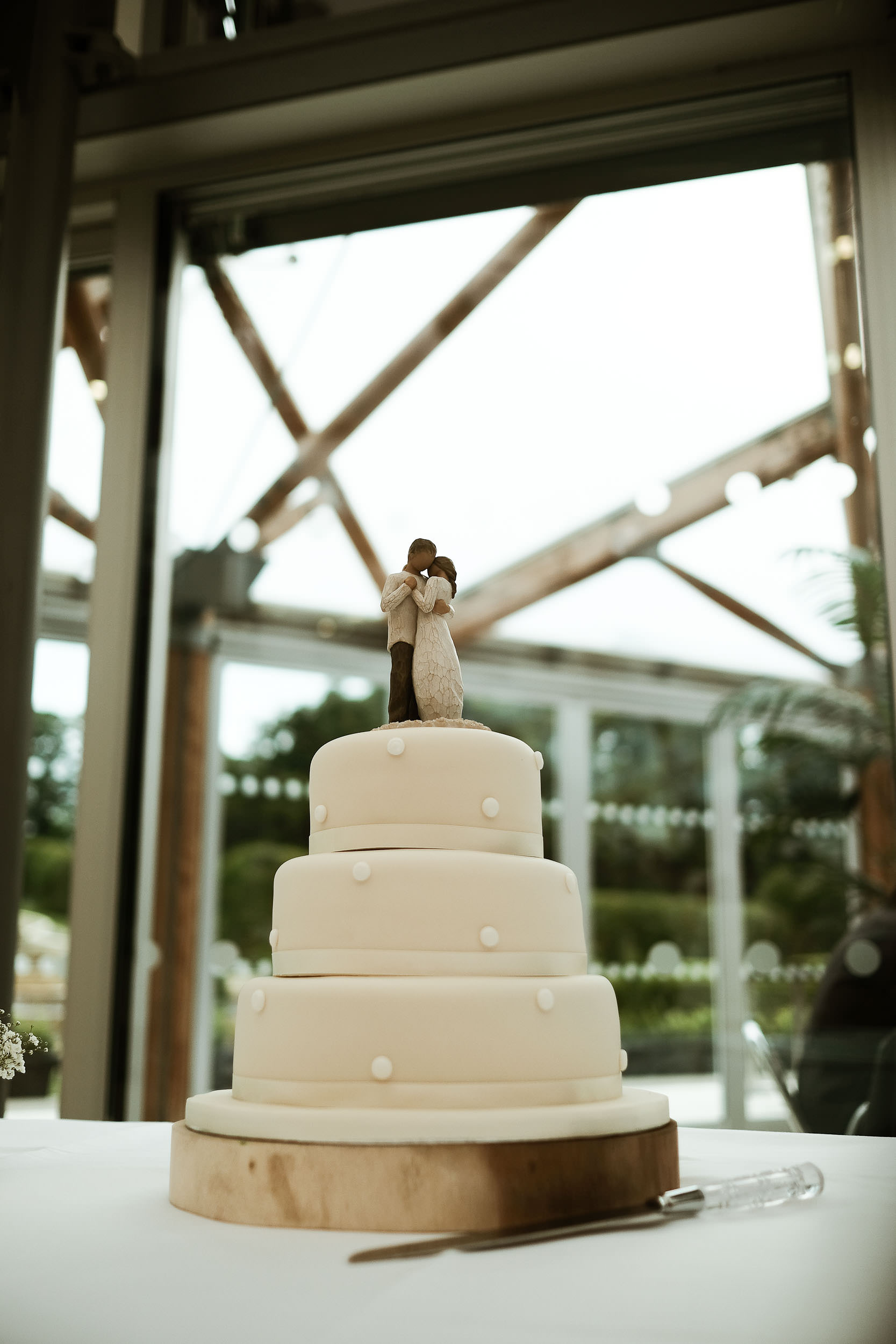 Wedding cake at the Alnwick Garden