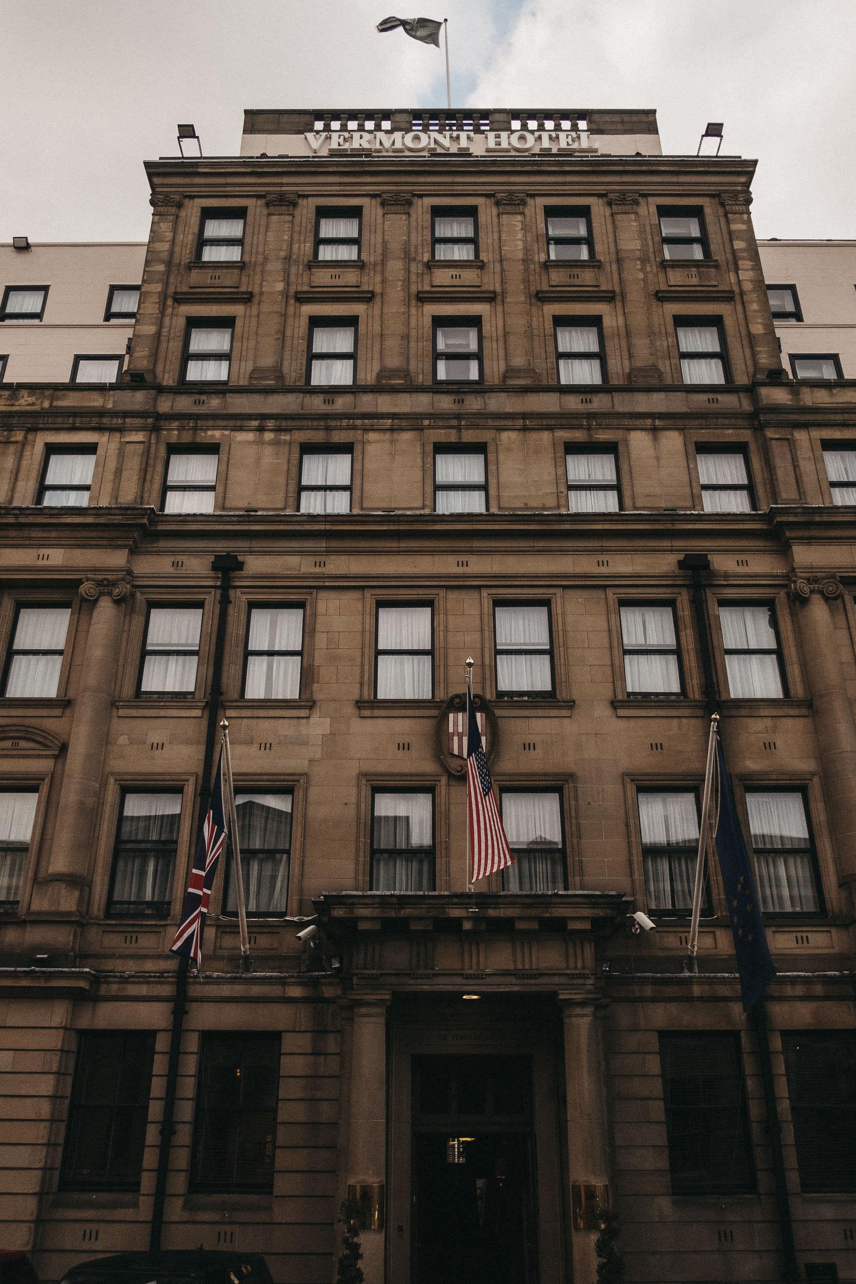 Exterior of Vermont Hotel Newcastle upon Tyne