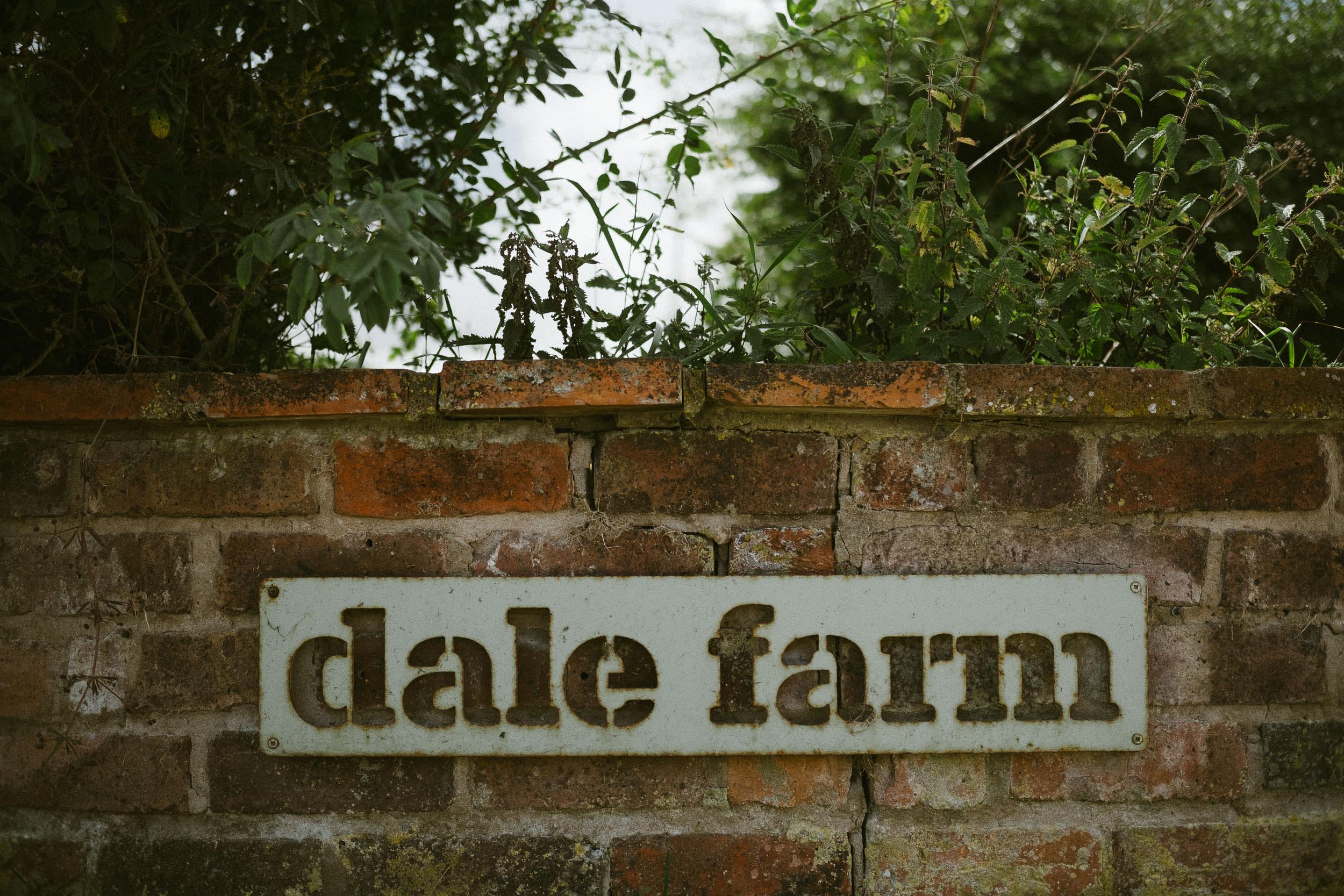 Dale Farm entrance sign