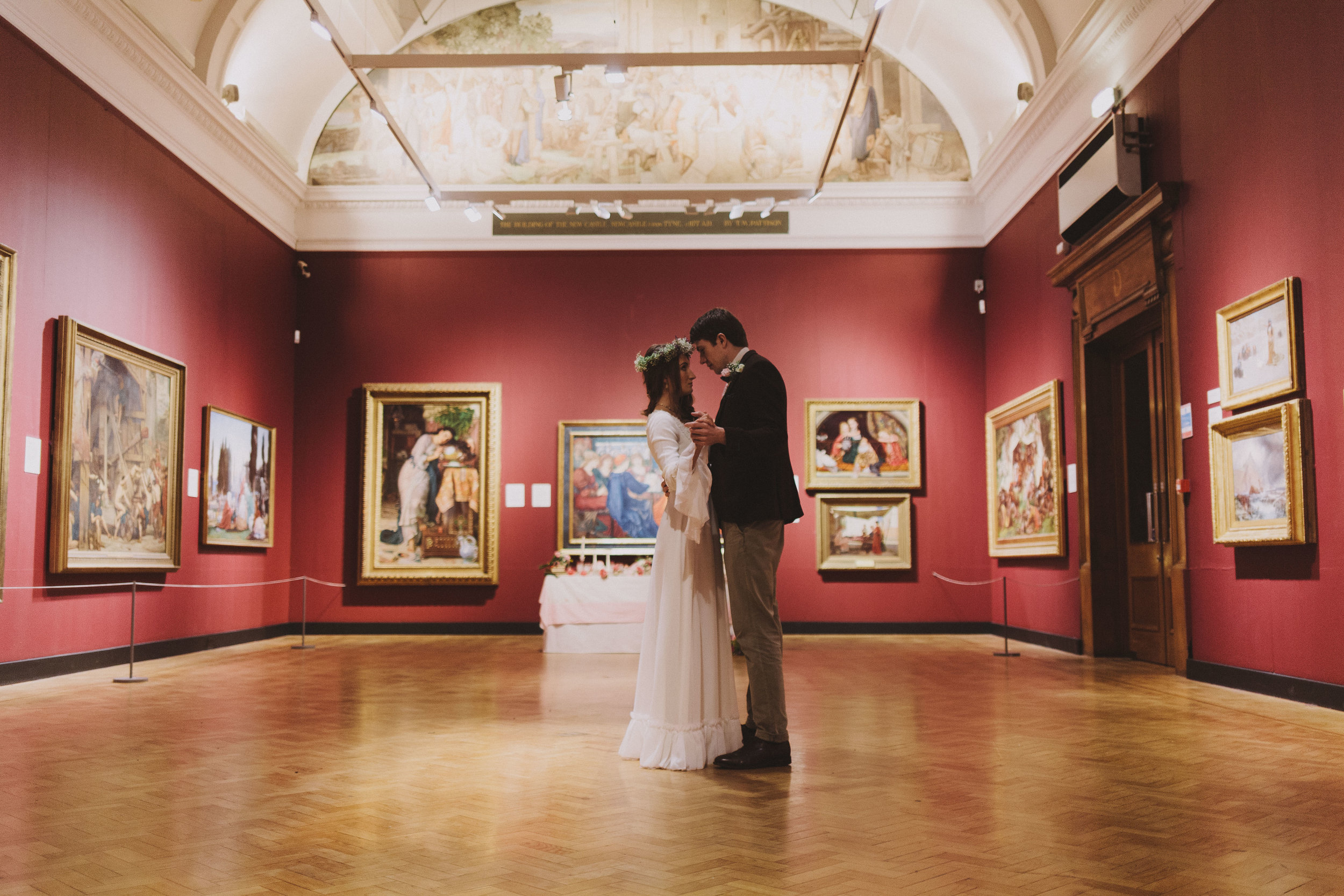 The Laing Art Gallery in Newcastle is the ultimate alternative wedding venue for art lovers.