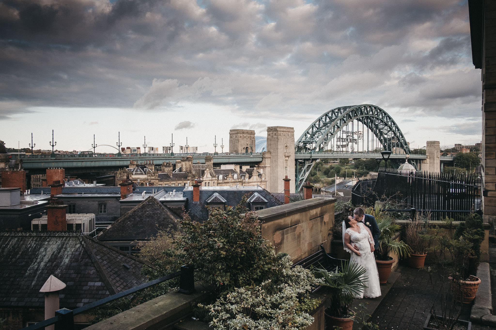 You could use the heart of Newcastle city centre as the backdrop for your wedding as Emma & Ian did.