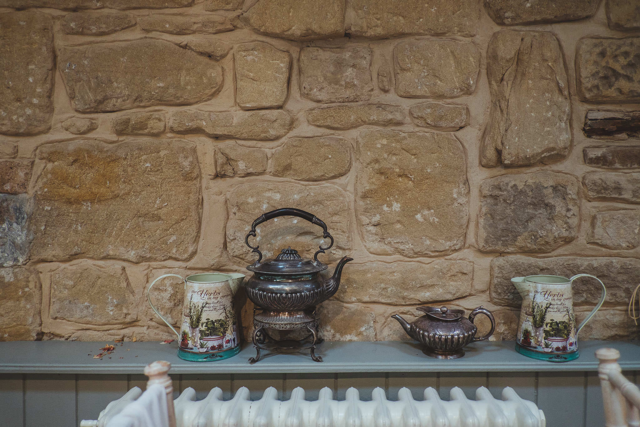 All the textures and details scattered around The Parlour at Blagdon make it a great place for wedding photography