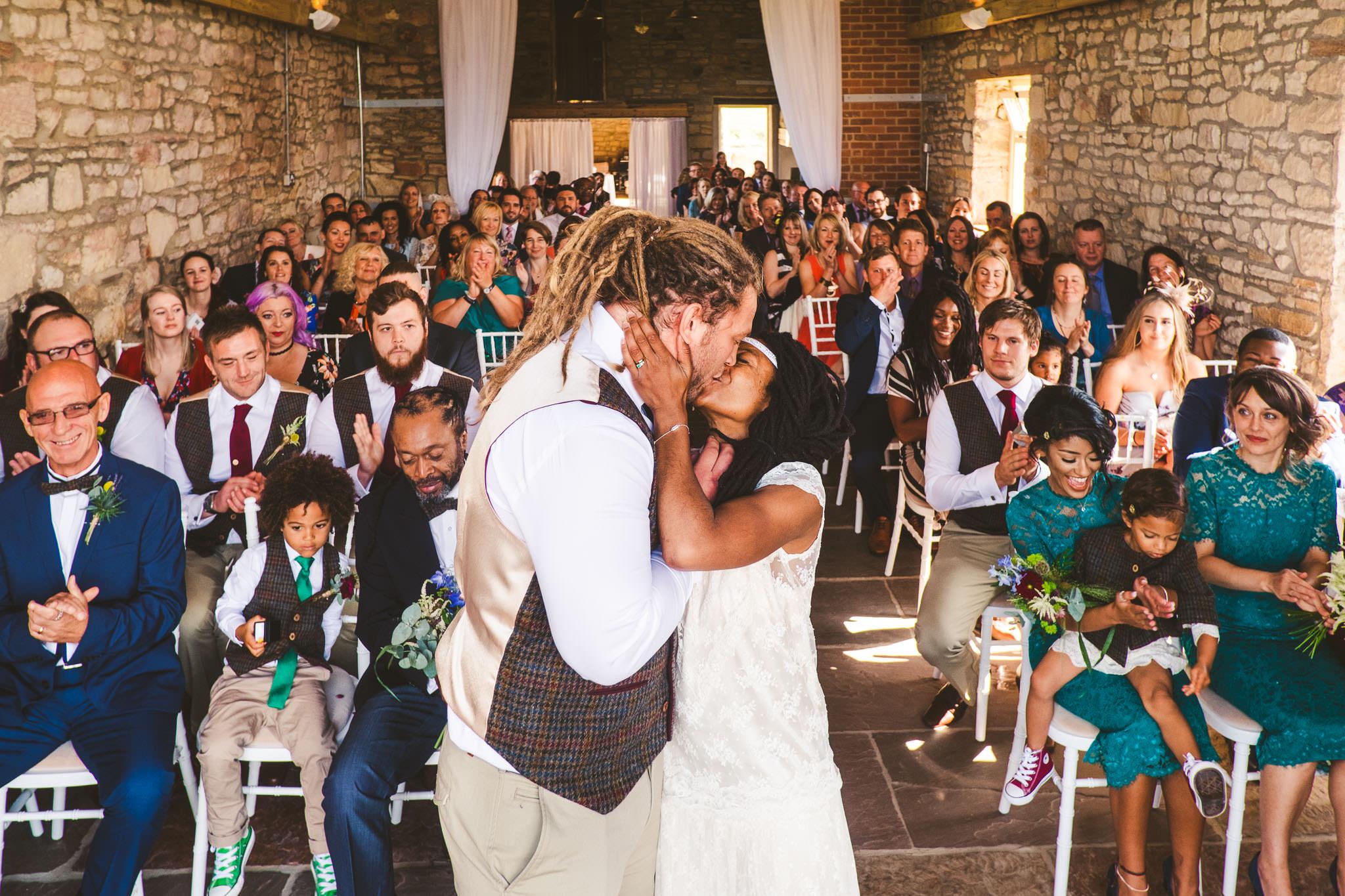 My first wedding at Northside Farm was with Tash & Adam