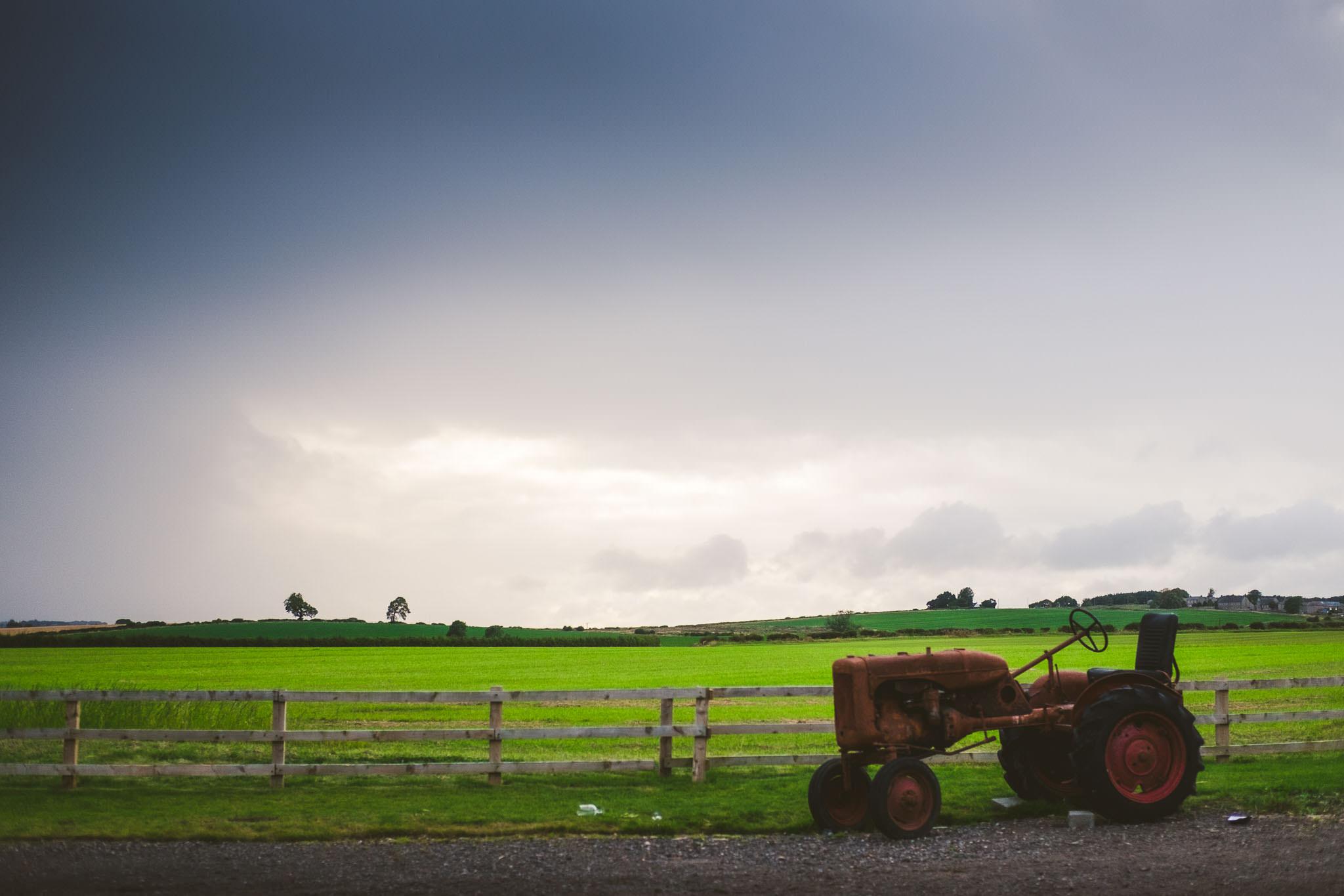 Big skies over Northside Farm