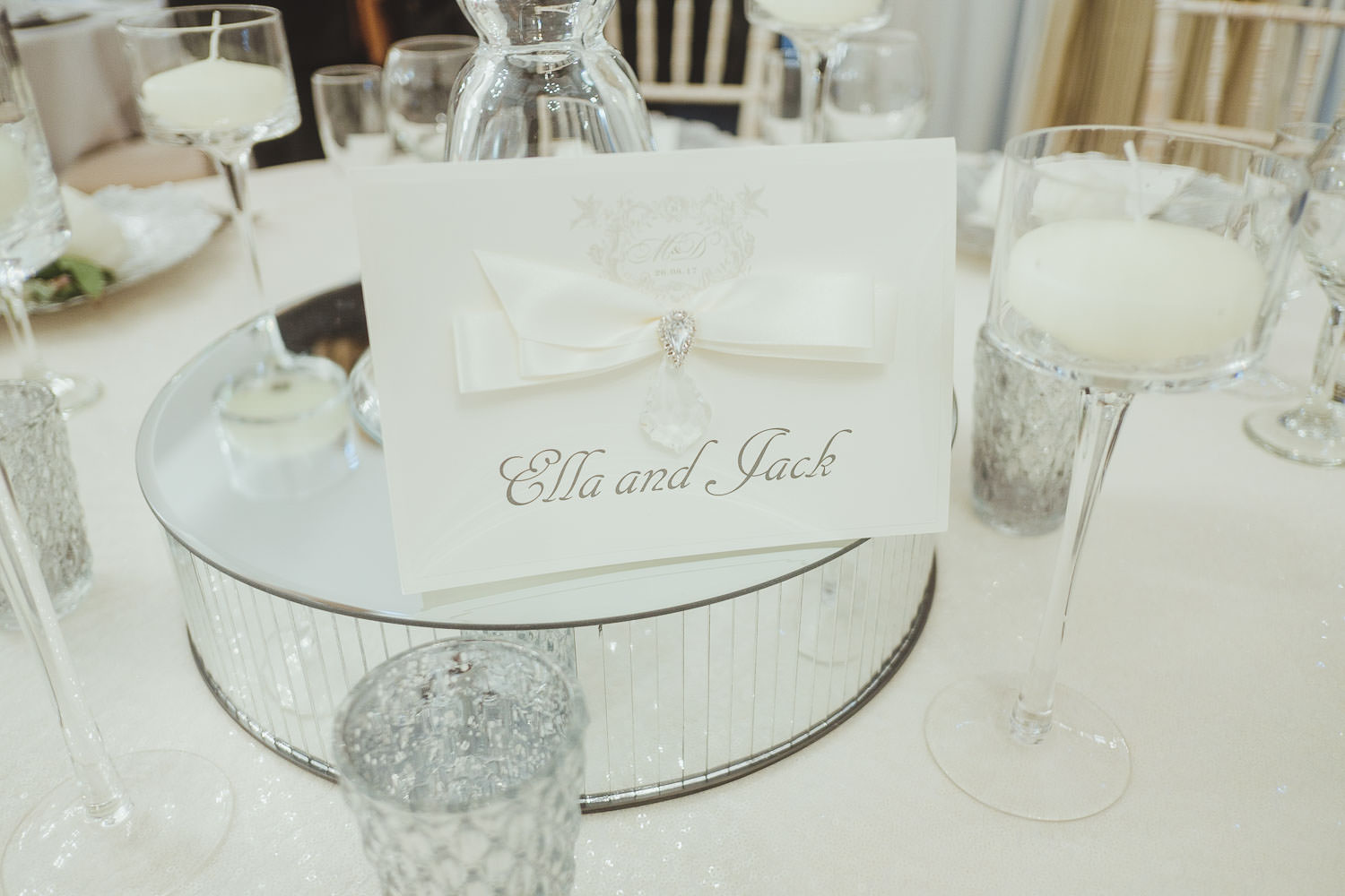 Wedding stationery at Horton Grange