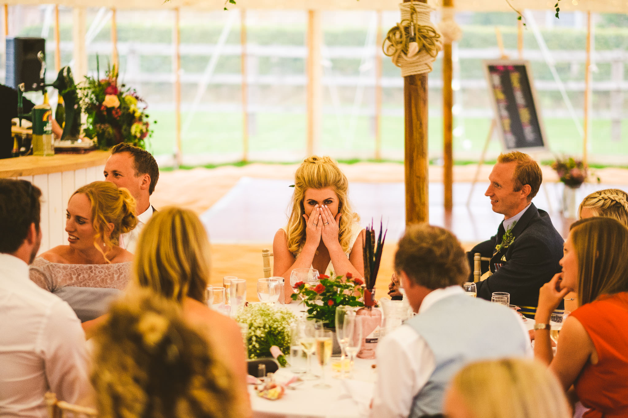 There is good embarrassment and bad embarrassment when it comes to wedding speeches. Try to stay on the right side of the line.