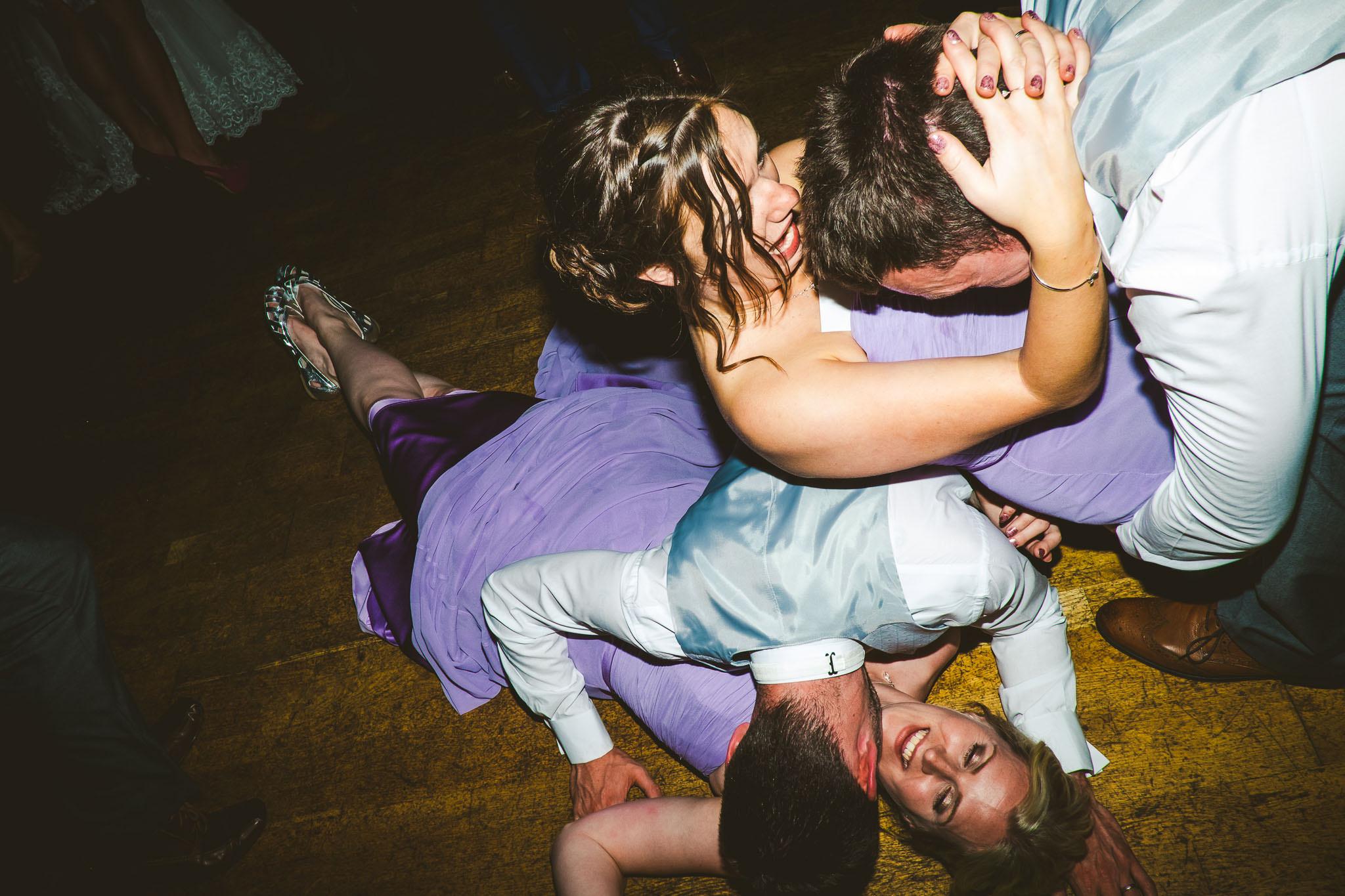 Wedding dance floor shenanigans