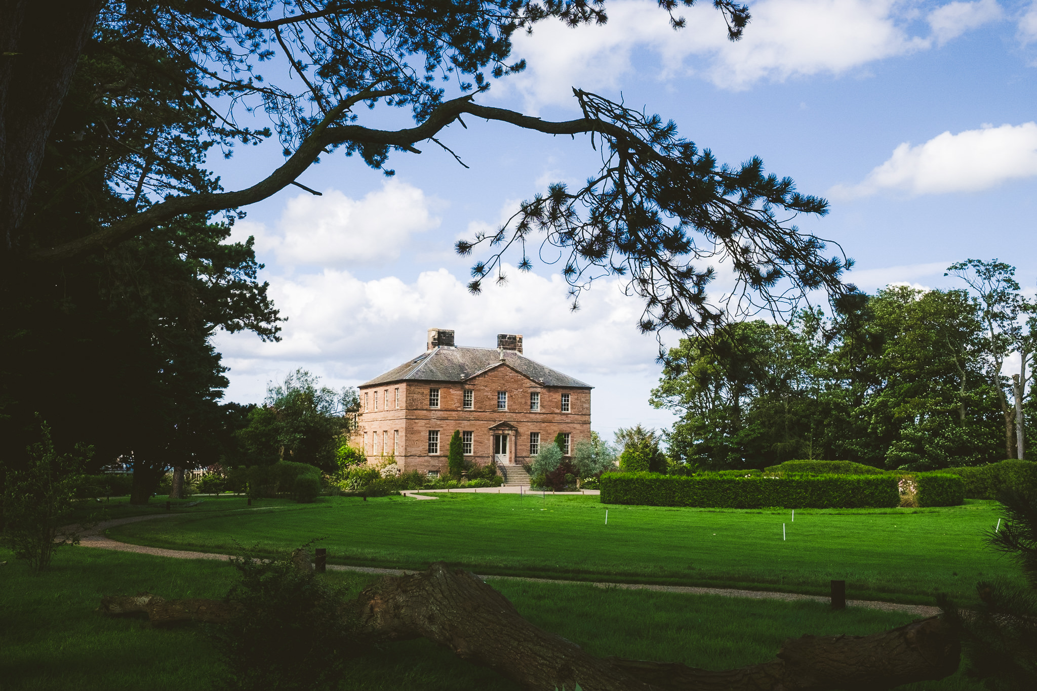 Newton Hall in Northumberland