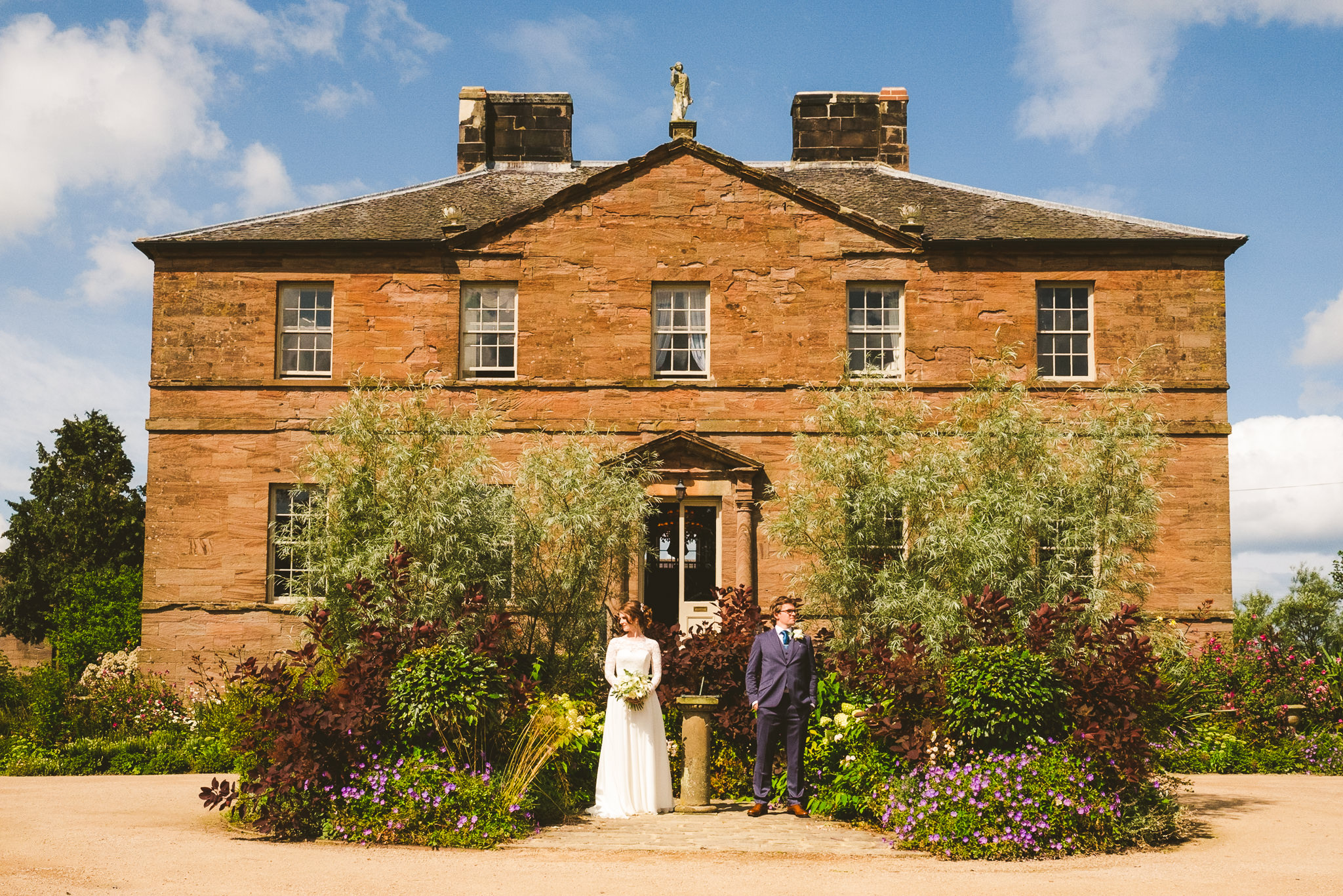 Andrew and Alice's wedding at Newton Hall in Northumberland