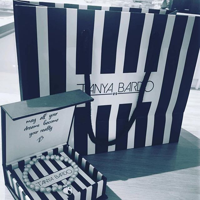 Bespoke bags and boxes designed for @tanyabardoboutique