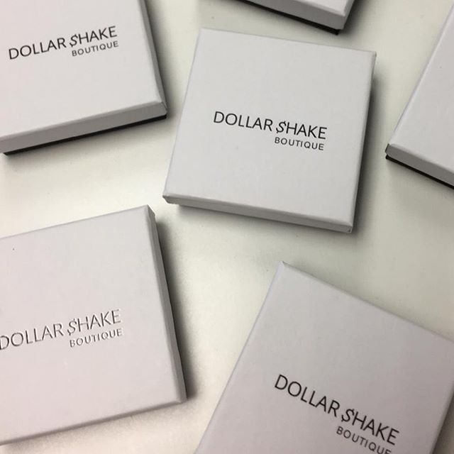 Bespoke jewellery boxes for @dollarshakeboutique