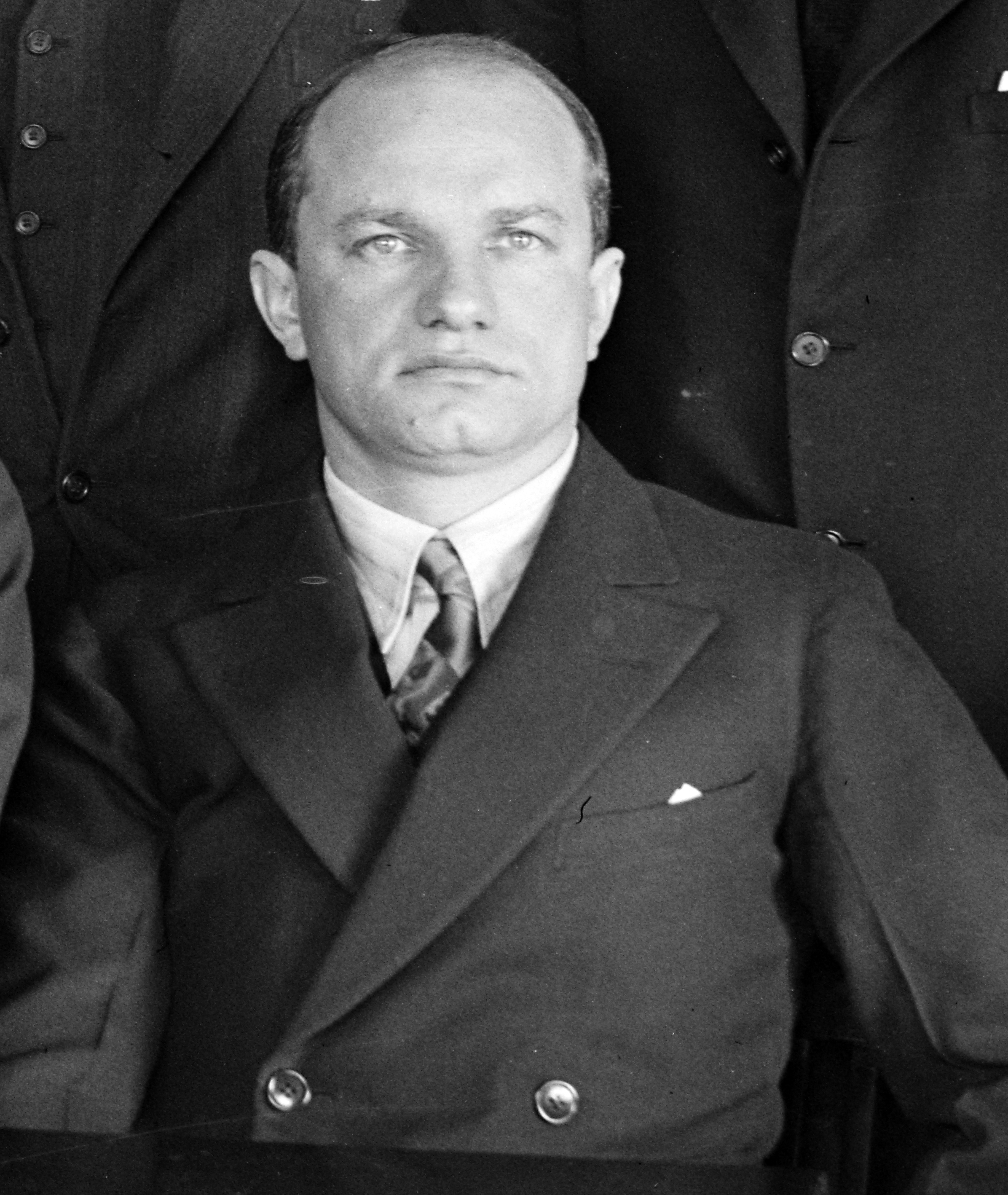 Charles Levine , aviation entrepreneur and first transatlantic air passenger. Levine was Kartveli's first employer in the United States .