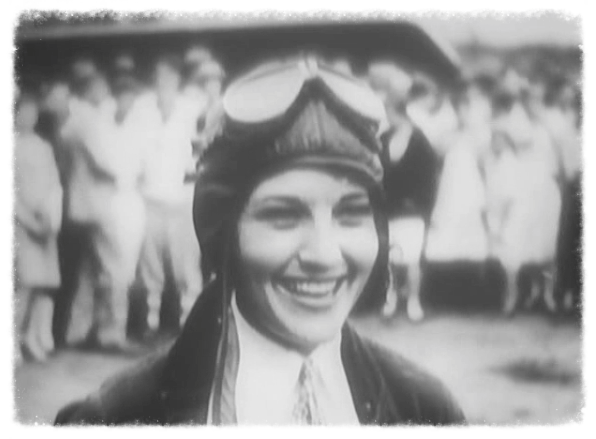 "Ruth Elder, ""Aviatrix"" in 1927"