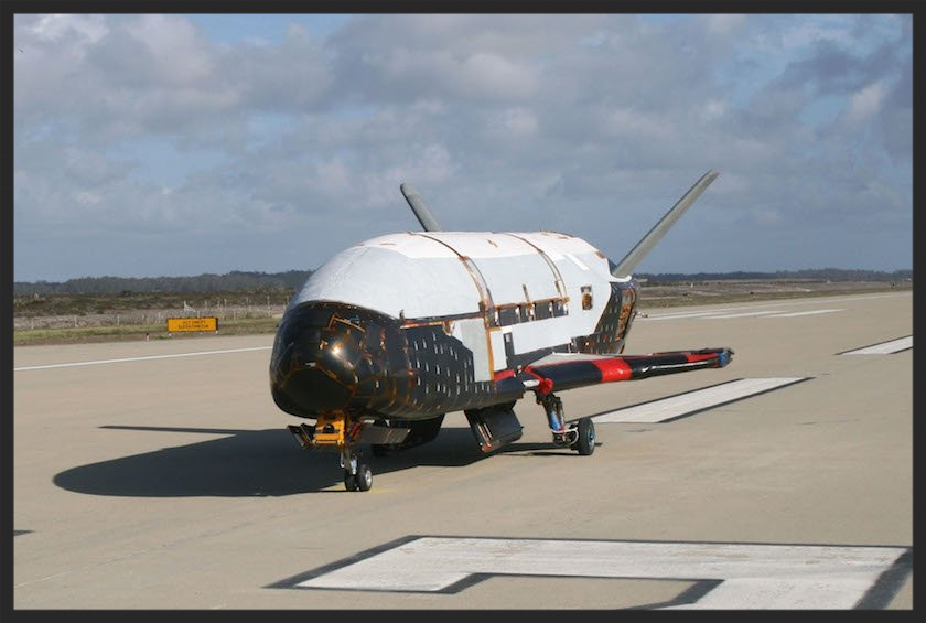 X-37b returning in September 2014 after a 2-year, classified mission (unmanned).