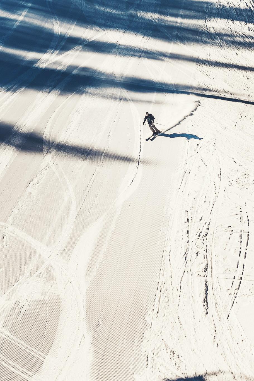 Skier in Vail