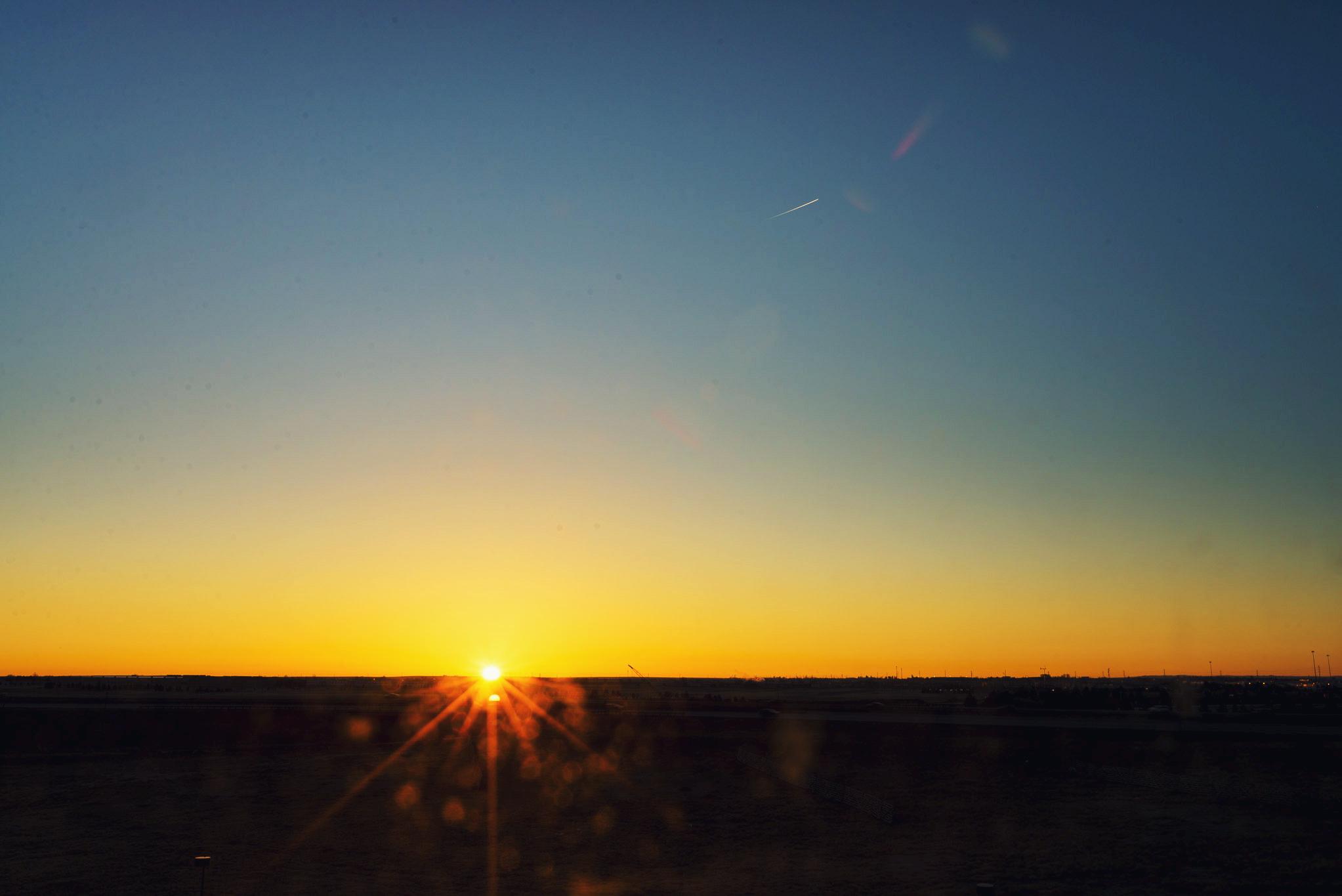 Sunrise in Denver