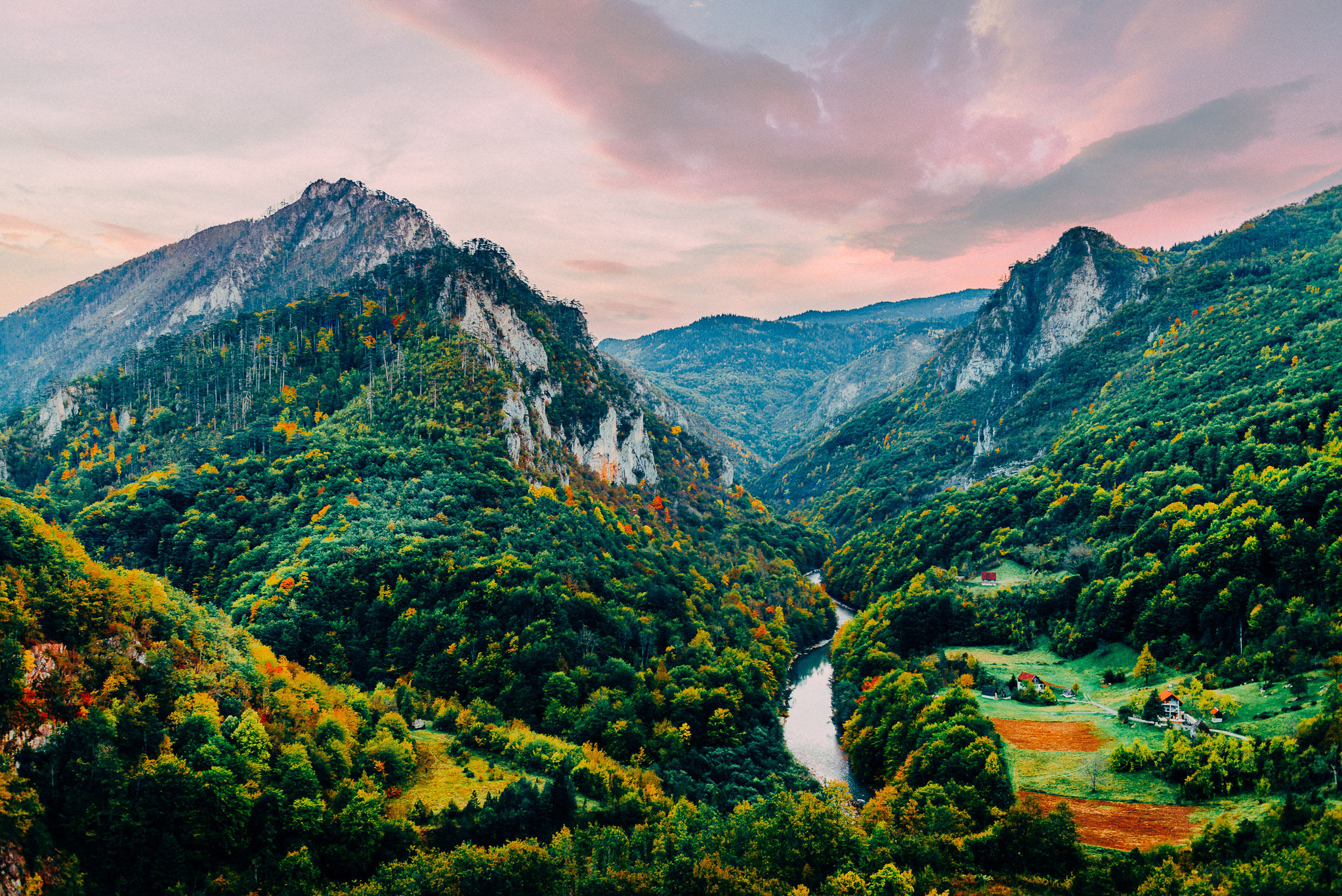 River Tara Canyon, the deepest canyon in Europe and the 2nd deepest in the world.
