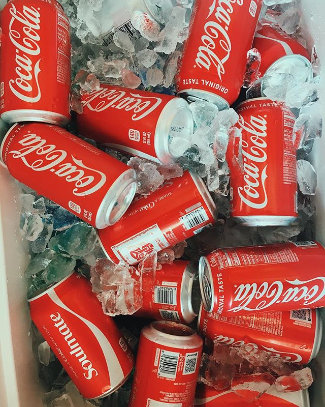 It's Friday, put some Coke on ice.