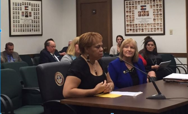 Witness and Rep. Kit Roupe testify to HB16-1066.
