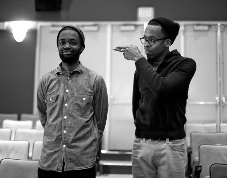 Ian Kamau and Tyrone