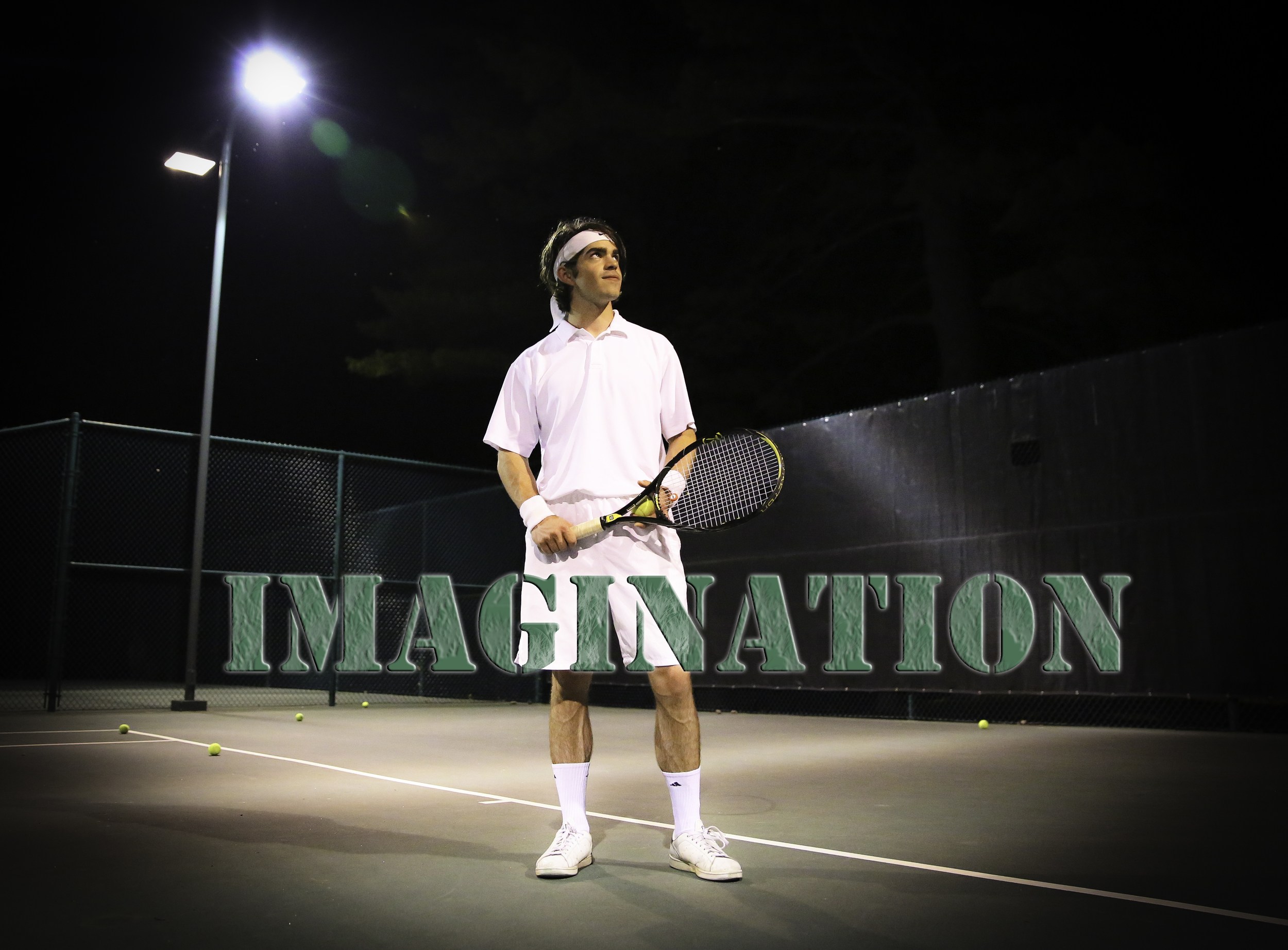 The sport of tennis can be very frustrating to play alone, but it's very fun when you have an enthusiastic instructor.
