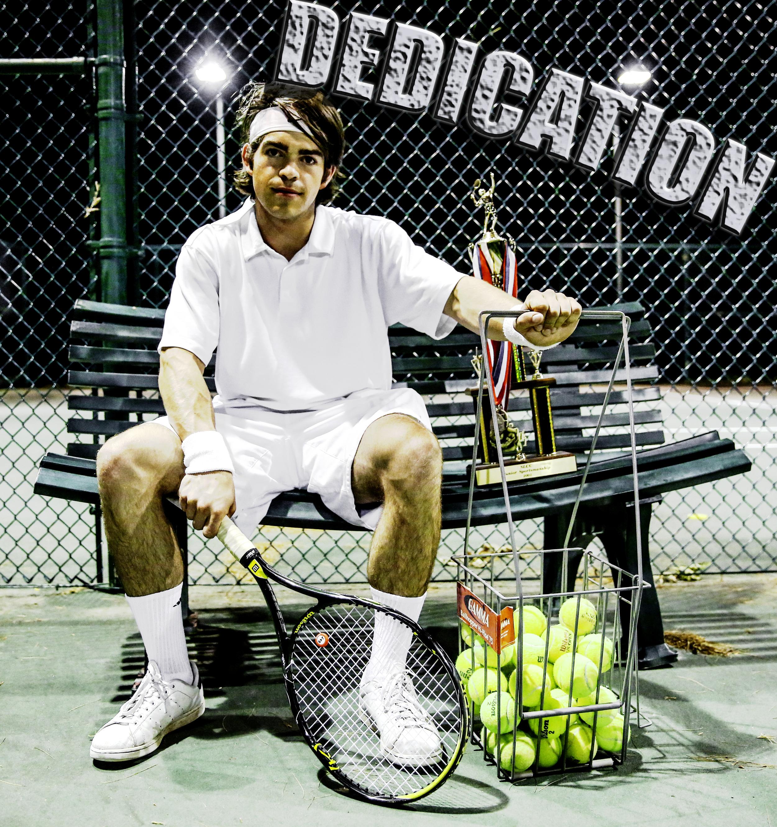 Location: The public tennis court nearest you!