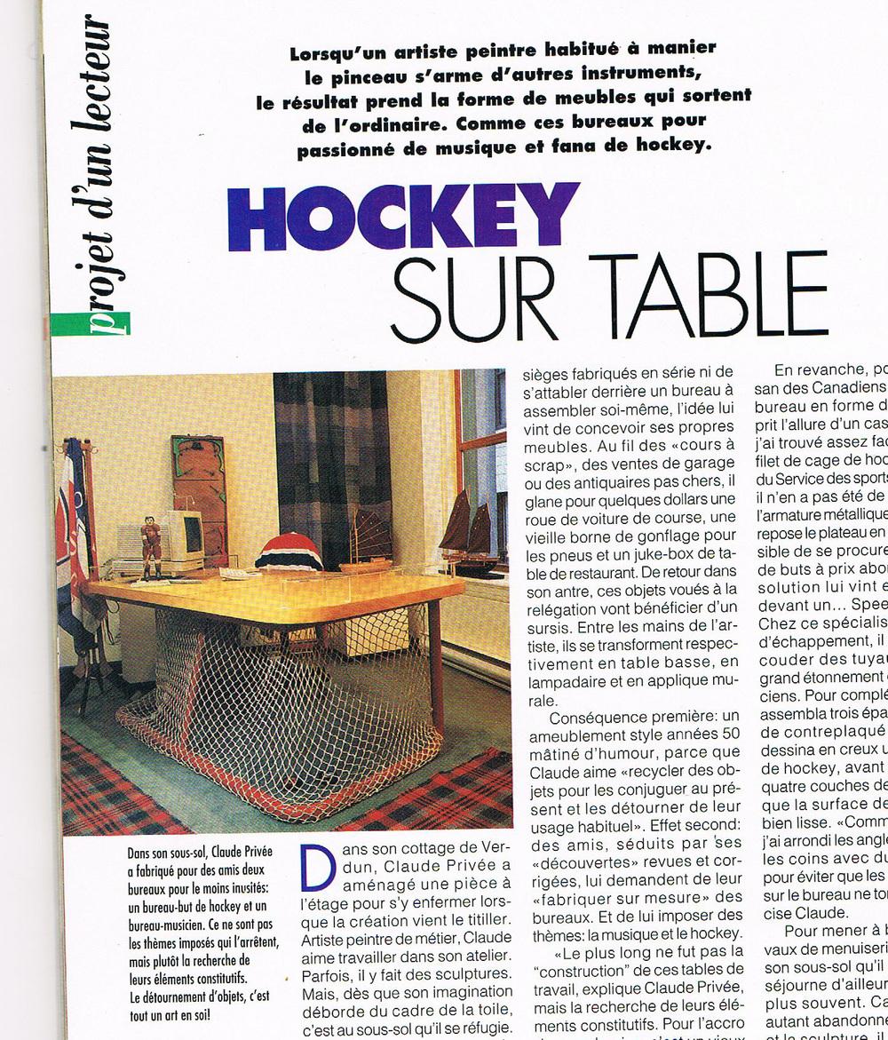 Quote Des Artistes Peintres professional hockey desk — your site title
