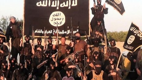 ISIS Forces operating in Iraq.BBC