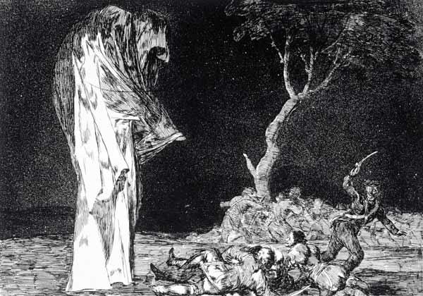 Disparate de miedo. Goya