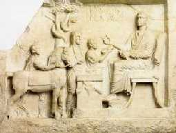 Asclepios, fundador de la medicina. Circa s. VIII ac.