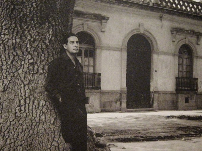 Octavio Paz en Mixcoac, donde creció