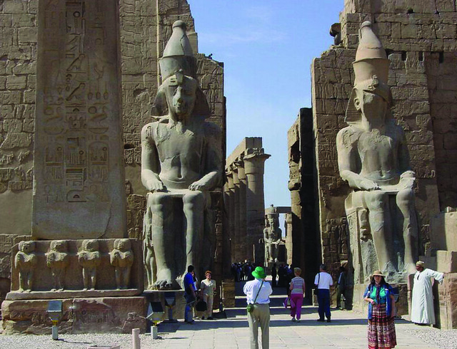 Templo de Luxor, en Egipto