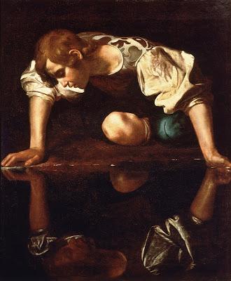 Caravaggio, Narciso (1599)