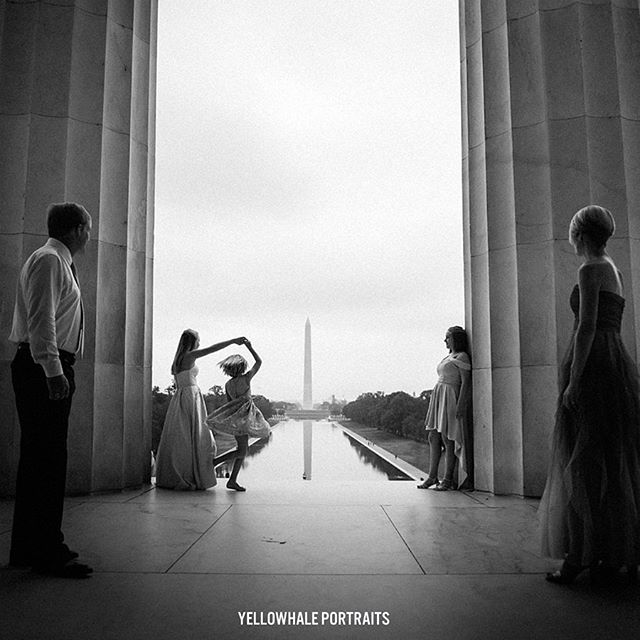 DESTINATION FAMILY SESSION. This family visited DC last week for a family vacation and wanted to make the most unique memory that would last! I was delighted to learn that the family loves traveling and has been getting their family photos every year! ( It sounds like my family story!! 😘😘) It was an immediate connection when we started designing the photo session. The location must be some iconic landmarks of nation's capital where all can enjoy being photographed and still experience of the essence of the city. We started super early to avoid other tourists but it was so worth it. The sunrise at the reflection pool was spectacular. The overcast sky was perfectly beautiful. The girls were absolutely fun to work with and we just could not be happier - it did not feel at all same old photo shoot! In fact, according to the girls (after the session!) the photo experience was the most fun highlight of the whole vacation. What a unforgettable morning we shared! The images are stunning. The best part is the every moment is captured to be cherished forever. Winning vacation tip right here!! #desinationtravelphotography #dcfamilyphotography #dcfamily #yellowhalefamily