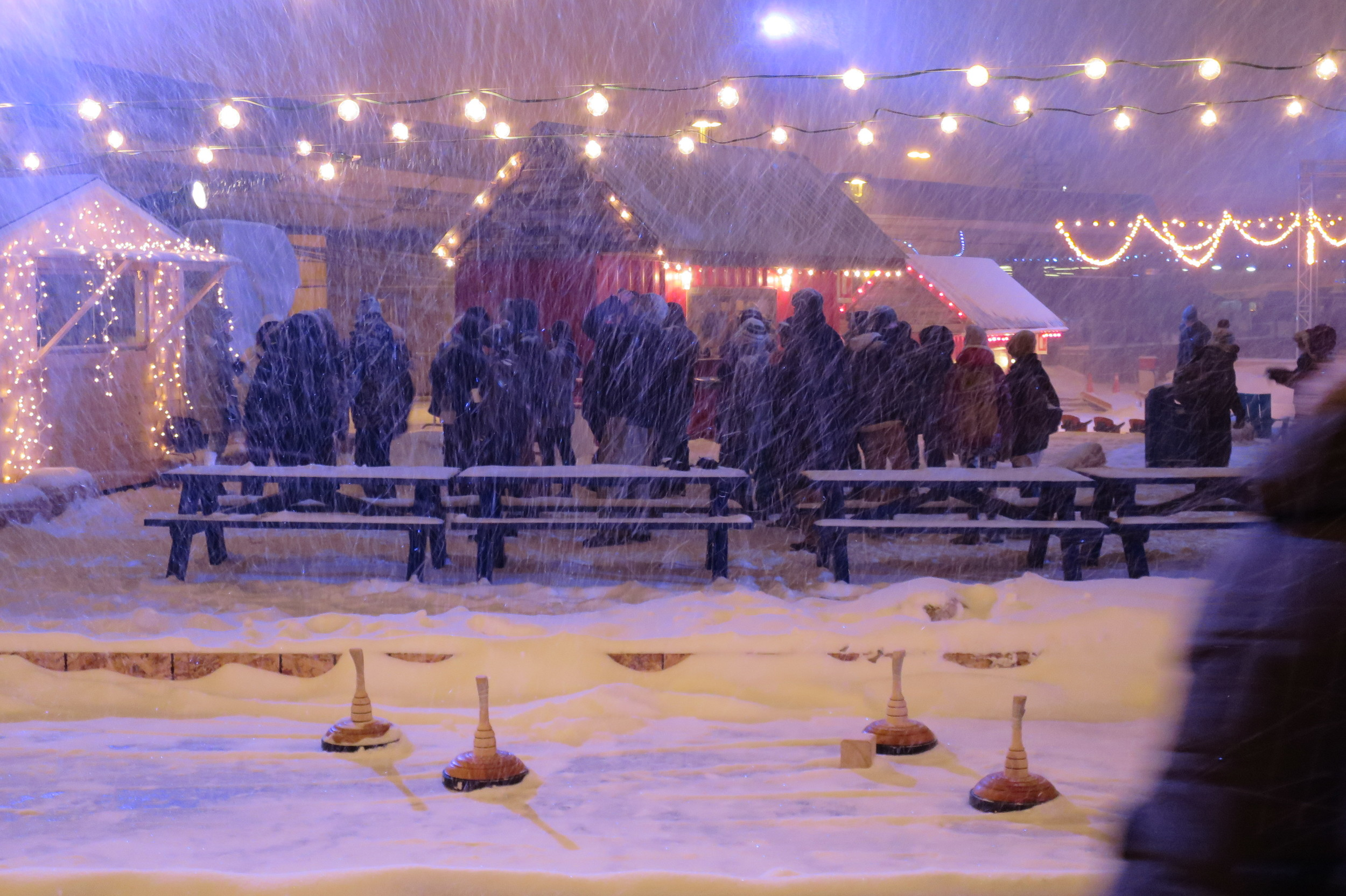eisstock ou curling bavarois à l'hivernale, Montréal