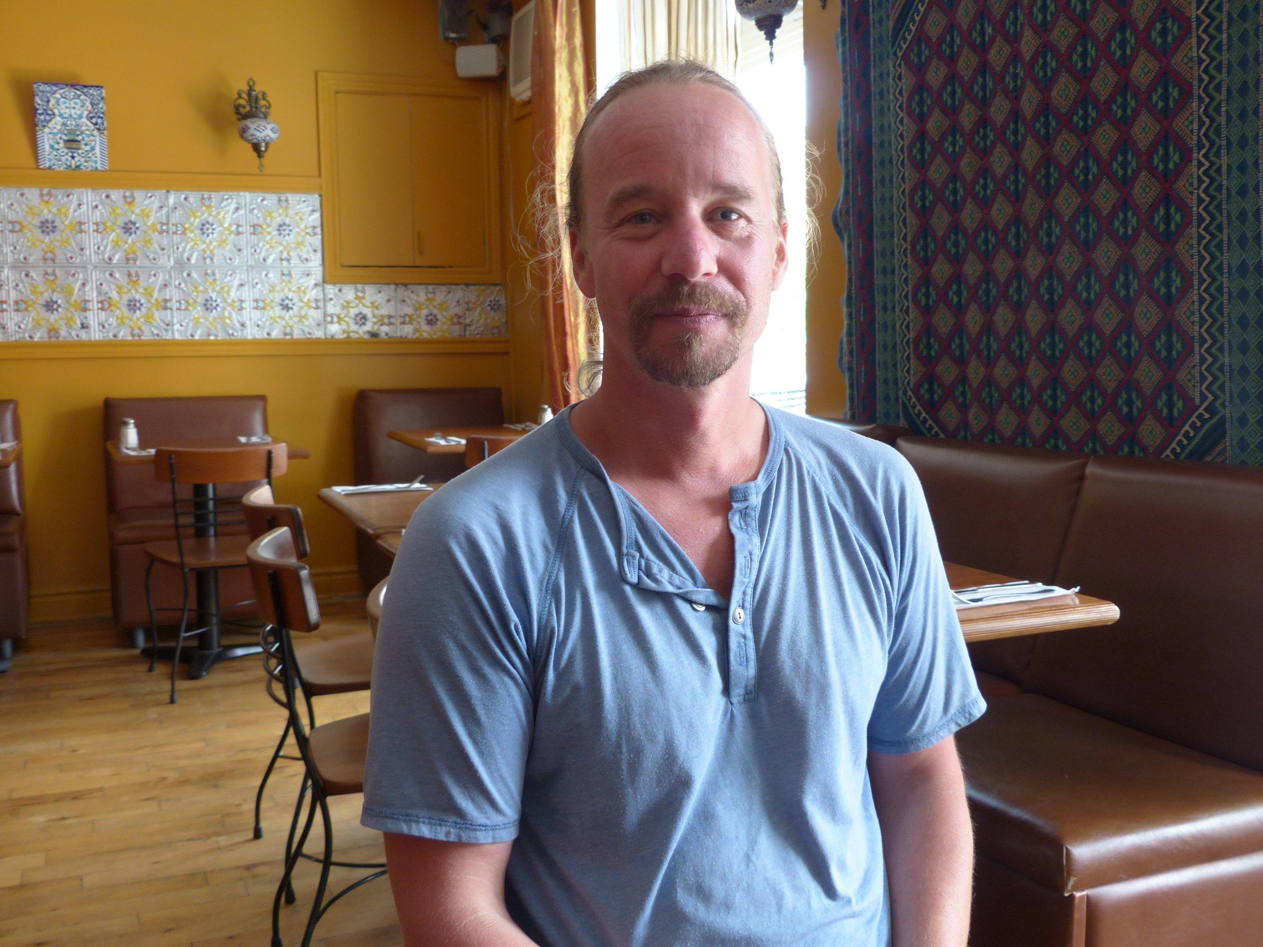 Le réalisateur Martin Frigon.