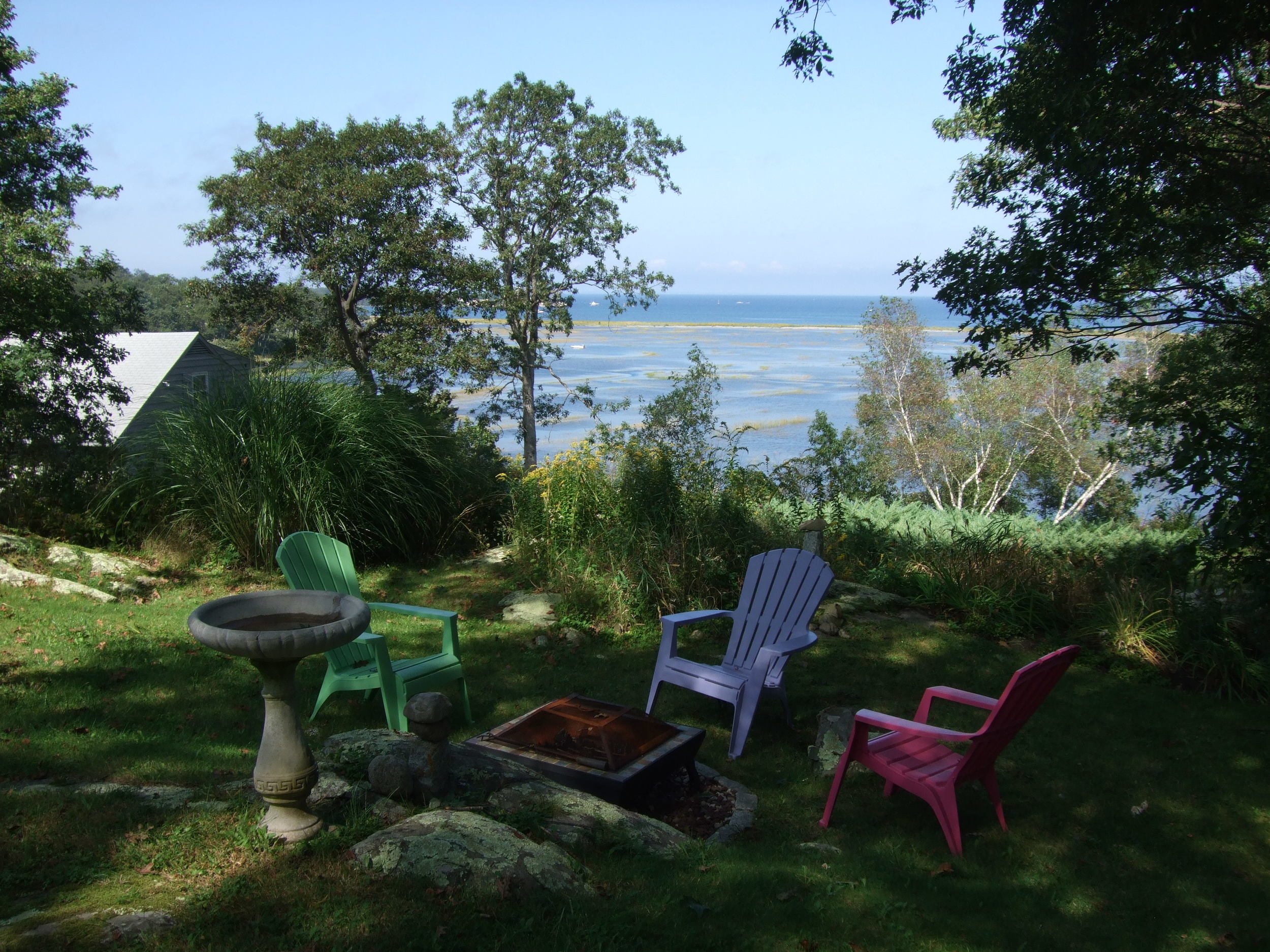 Fire pit. Scituate, MA