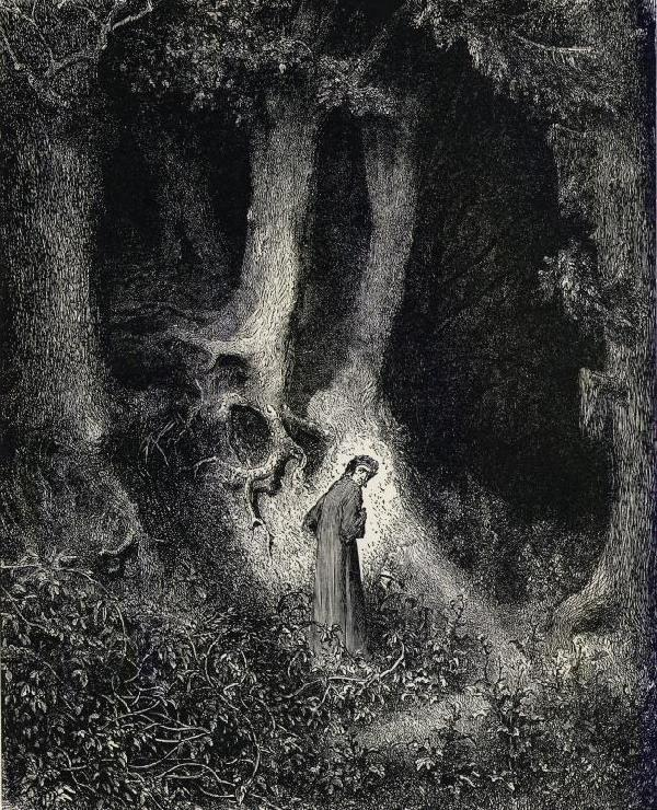 From 'Gustave Doré's Illustrations to the Divine Comedy'