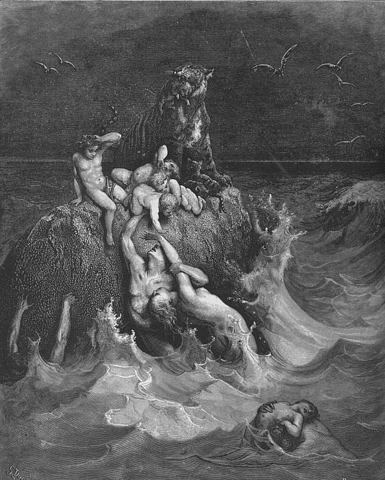 From Gustave Doré's Bible illustrative series.